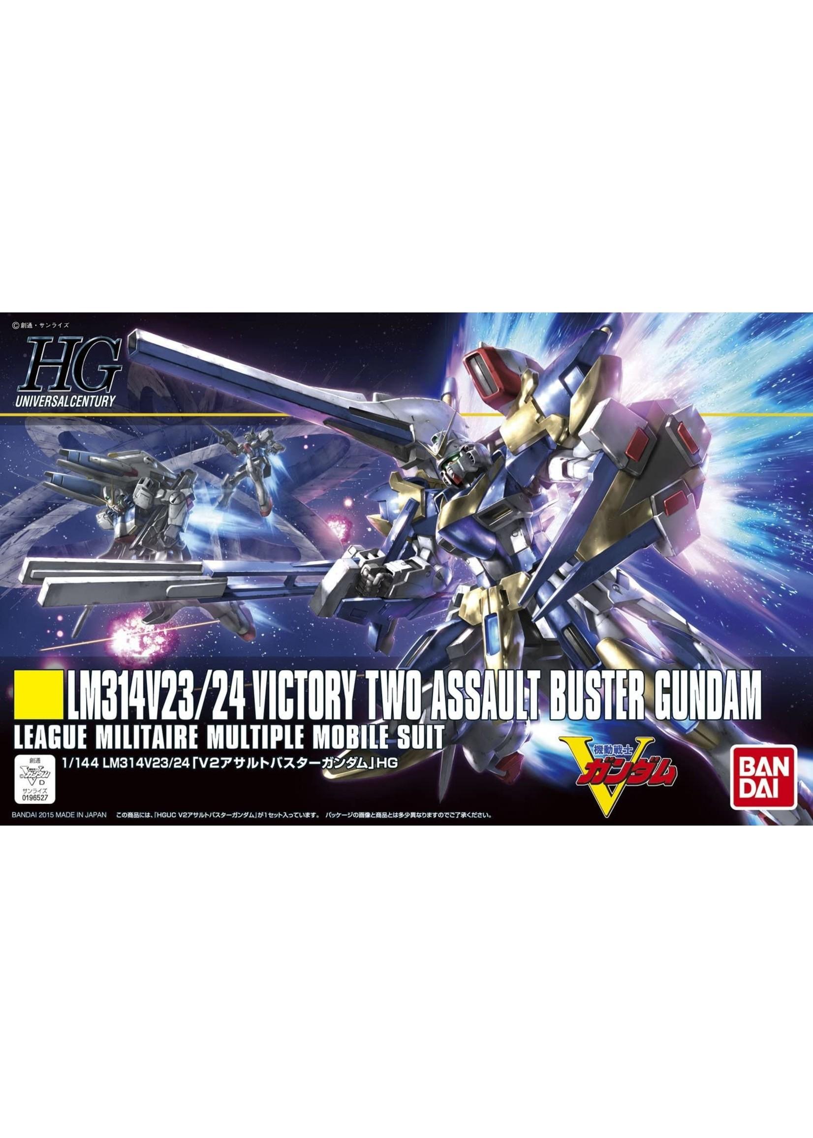 Gundam: 1/144 V2 Assault Buster Gundam Victory Gundam