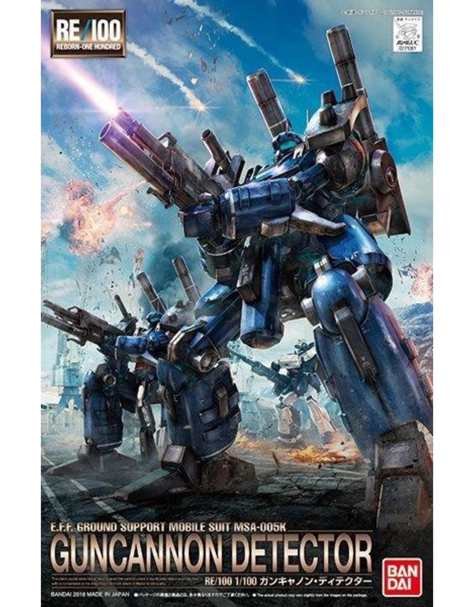 Gundam: Guncannon Detector Gundam UC Bandai RE/10