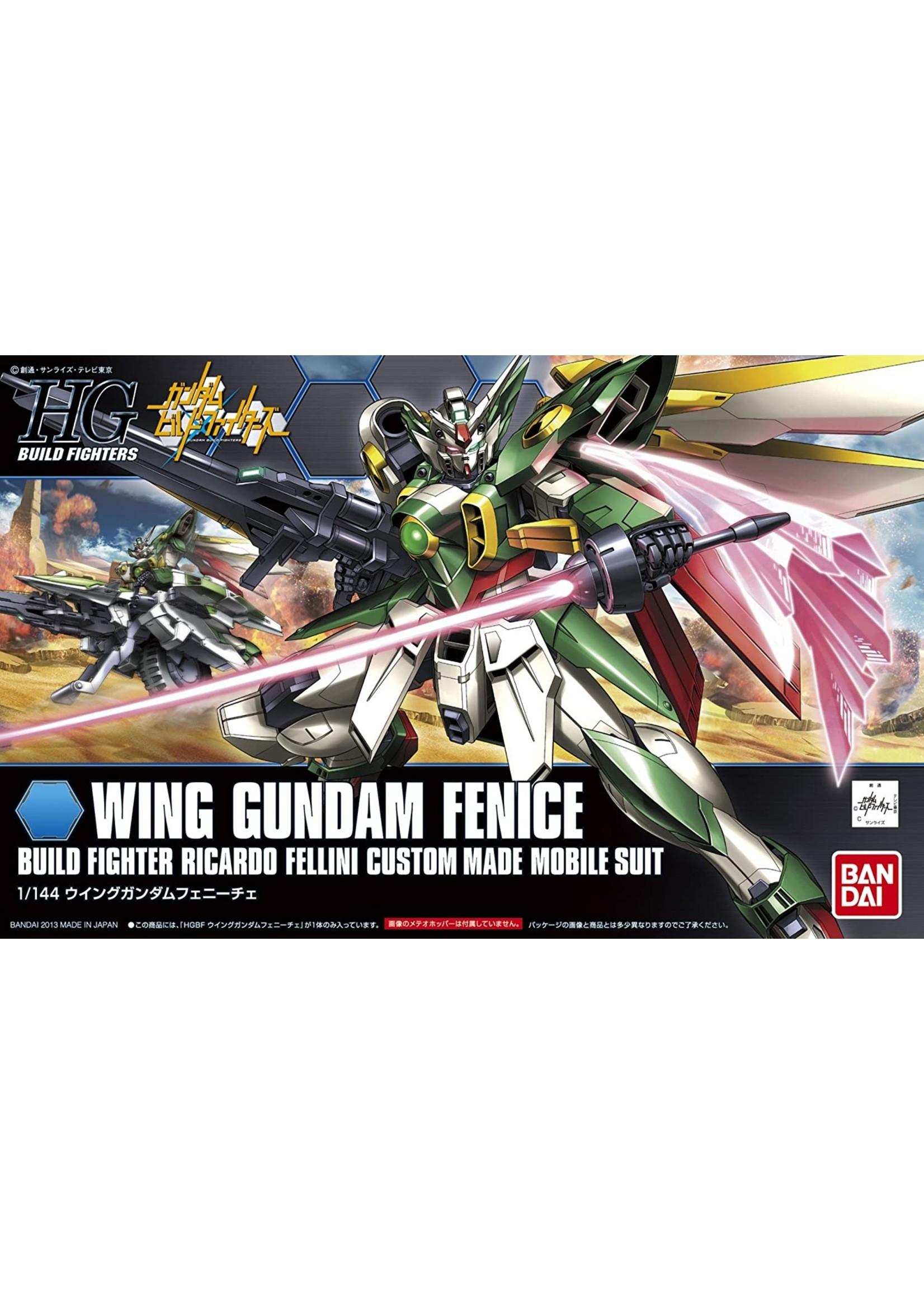 Gundam: 1/144 #06 Wing Gundam Fenice HG