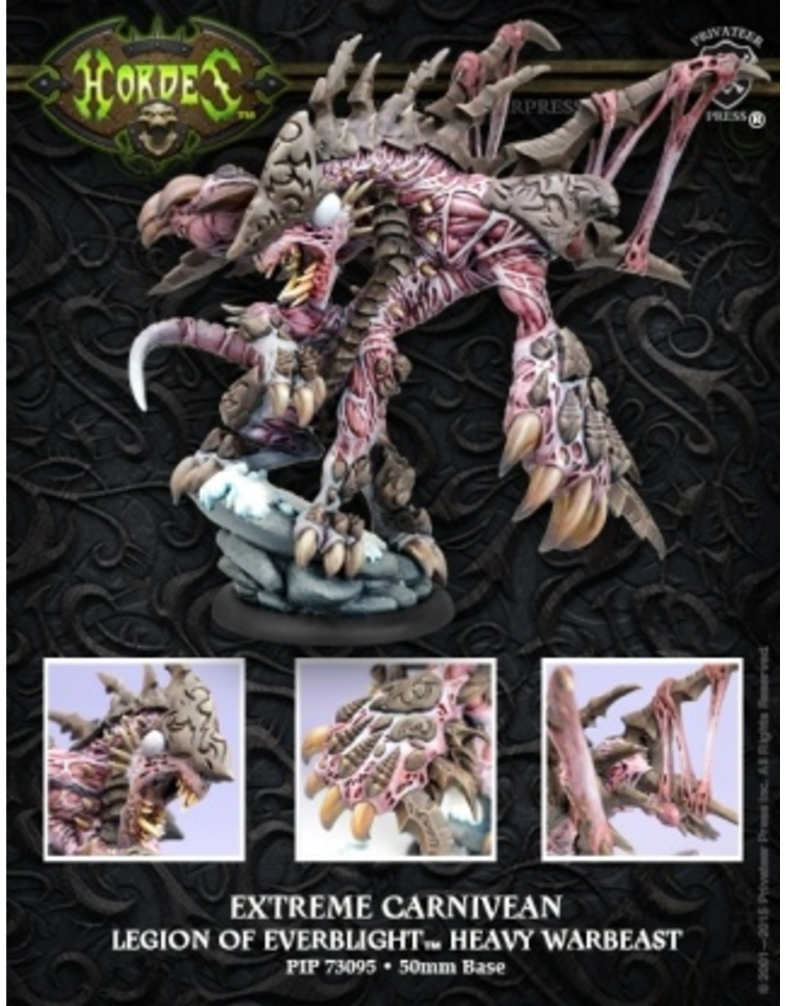 Hordes: Legion of Everblight Extreme Carnivean Heavy Warbeast (Resin and White Metal)