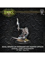 Hordes: Legion of Everblight Bayal, Hound of Everblight Character Unit Attachment (White Metal)