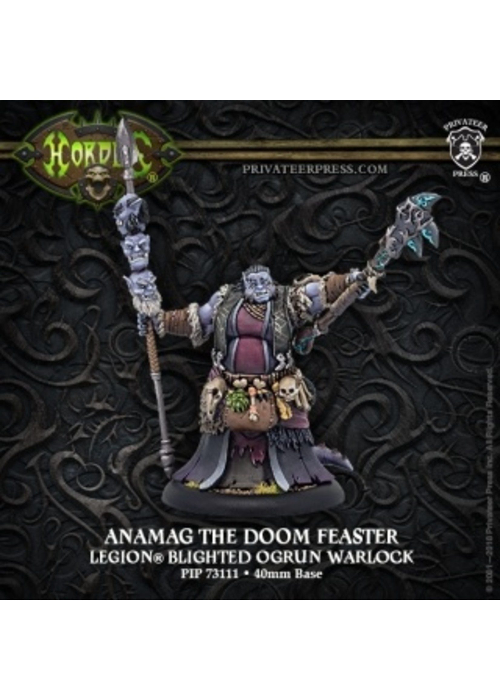 Hordes: Legion of Everblight Anamag the Doom Feaster Warlock