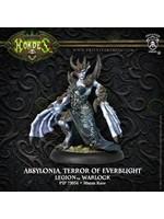 Hordes: Legion of Everblight Absylonia, Terror of Everblight Blighted Nyss Warlock (White Metal)