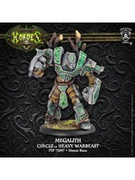 Hordes: Circle Orboros Megalith Character Heavy Warbeast (White Metal)