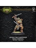 Hordes: Circle Orboros Grayle the Farstrider Warlock (White Metal)