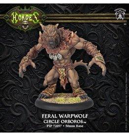Hordes: Circle Orboros Feral/Pureblood/Stalker Warpwolf Heavy Warbeast (Plastic Kit)