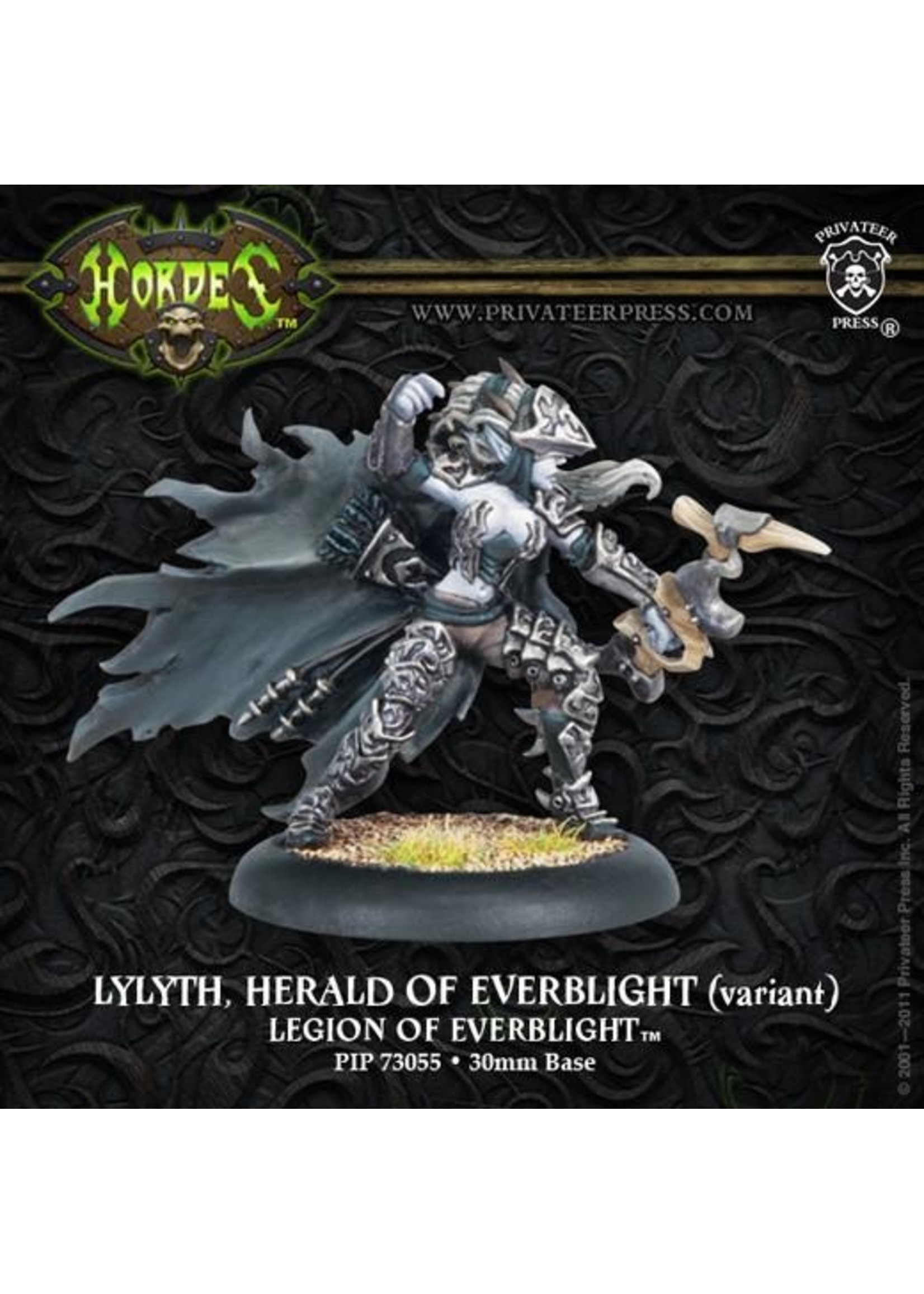 Hordes: Legion of Everblight Lylyth, Herald of Everblight Blighted Nyss Warlock (White Metal)