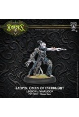 Hordes: Legion of Everblight Saeryn, Omen of Everblight Blighted Nyss Warlock (White Metal)