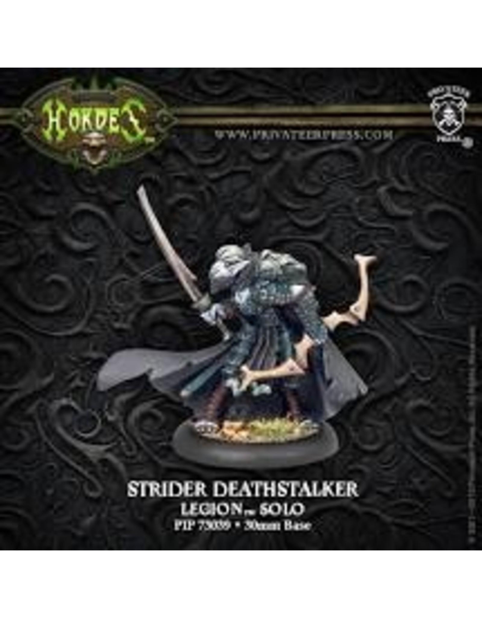 Hordes: Legion of Everblight Strider Deathstalker Blighted Nyss Solo (White Metal)