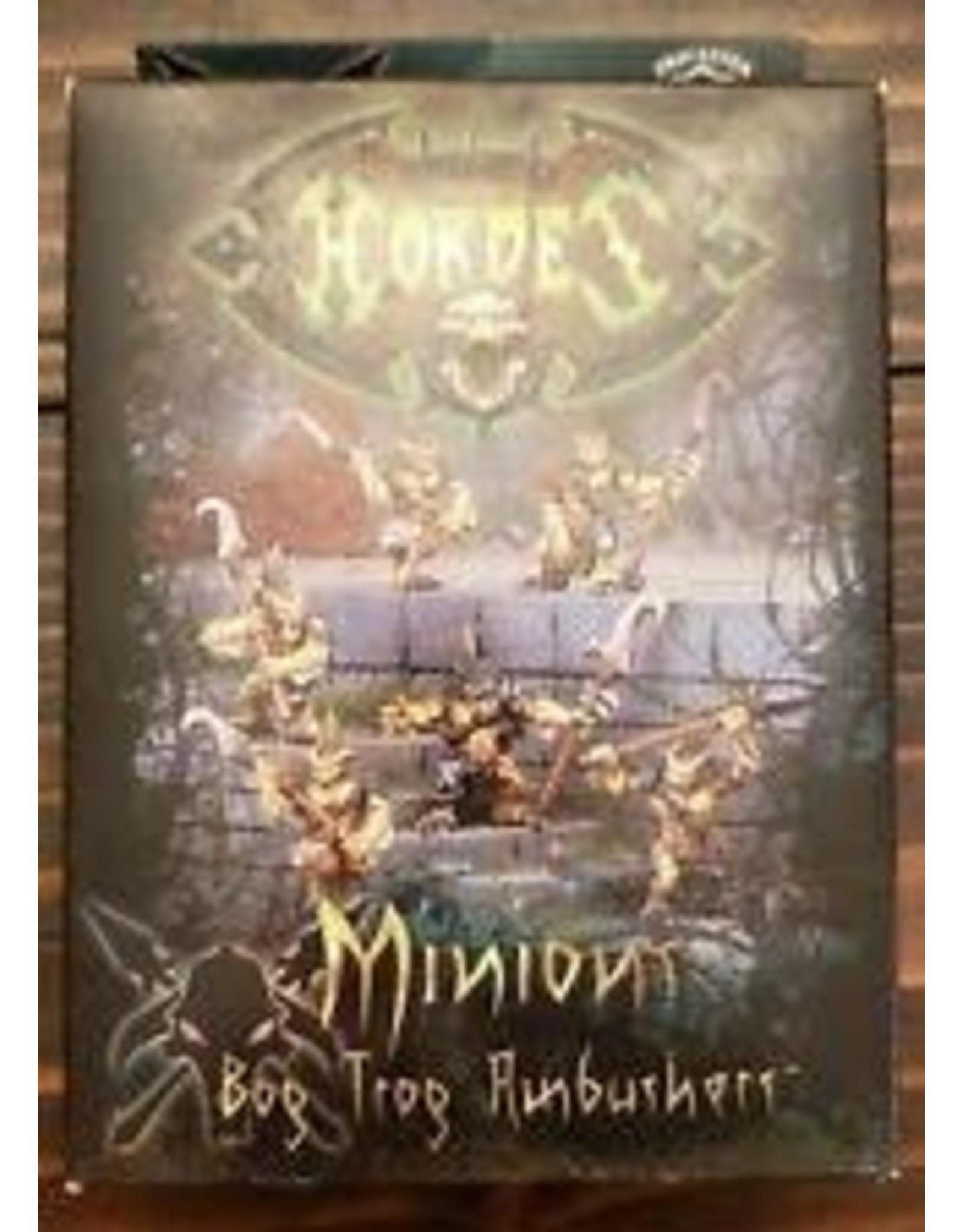 Hordes: Minions Bog Trog Ambushers Unit (6) (White Metal)