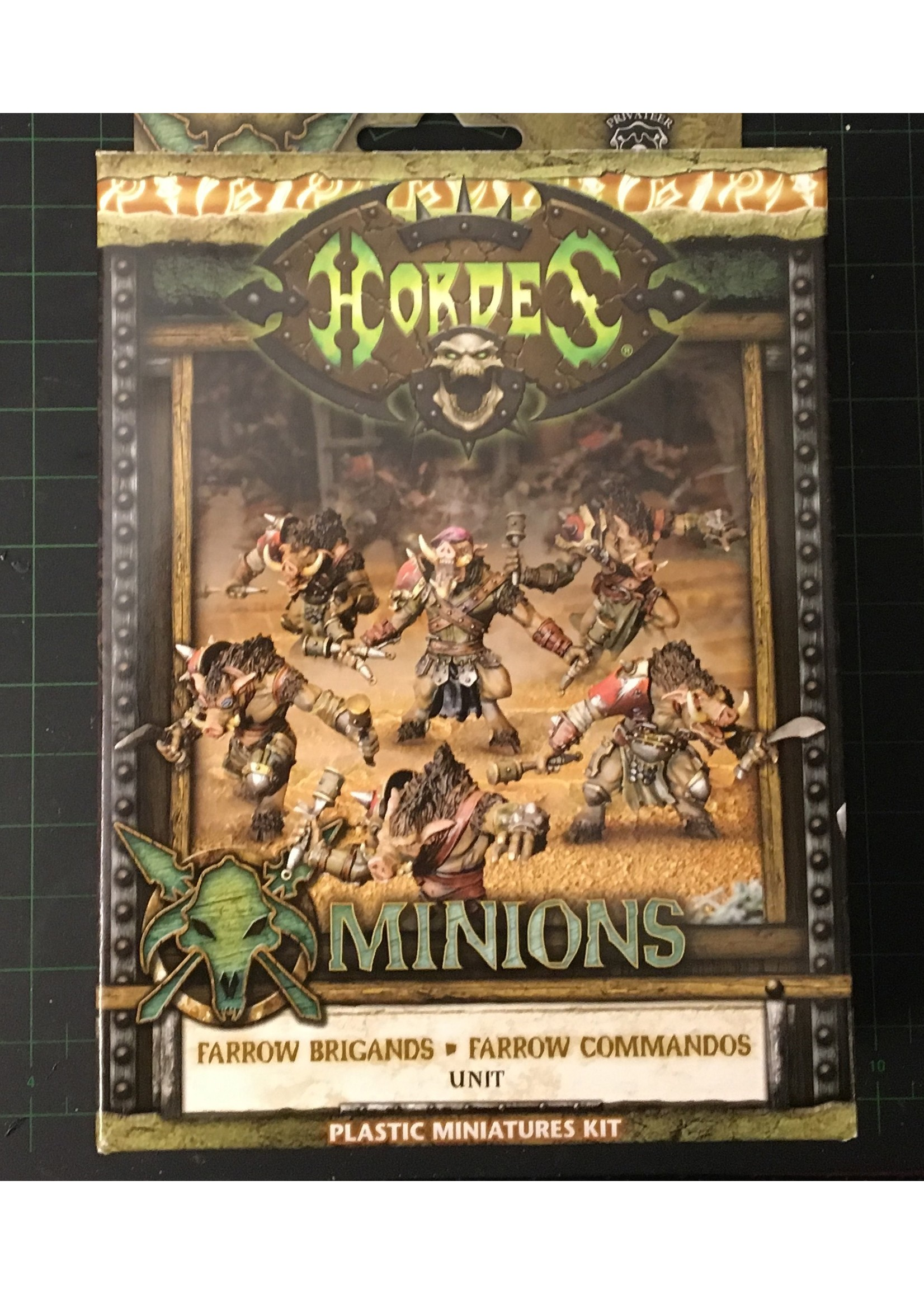 Hordes: Minions Farrow Brigands/Farrow Commandos Unit (Plastic)