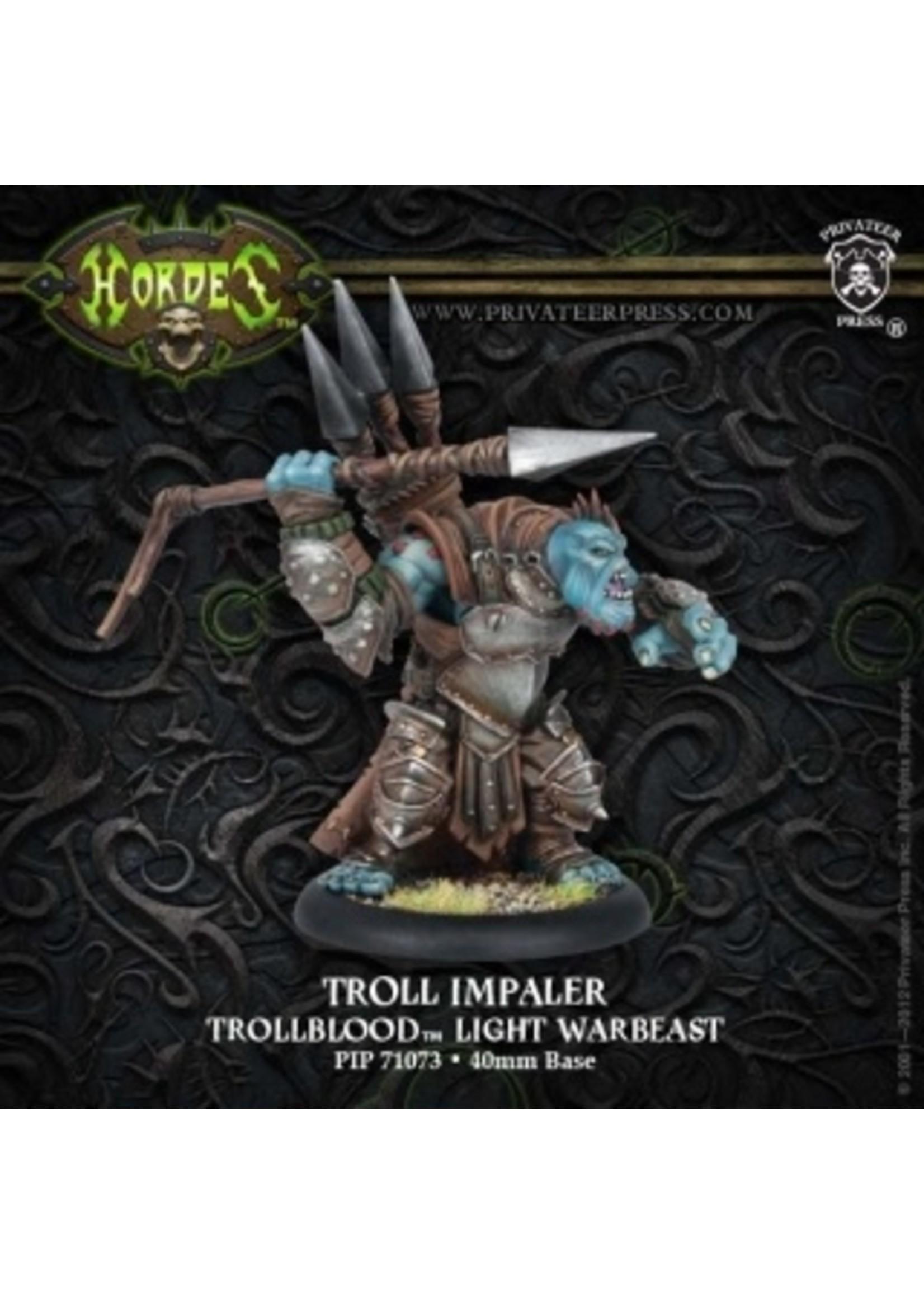 Hordes: Trollblood Troll Impaler Light Warbeast (Plastic)