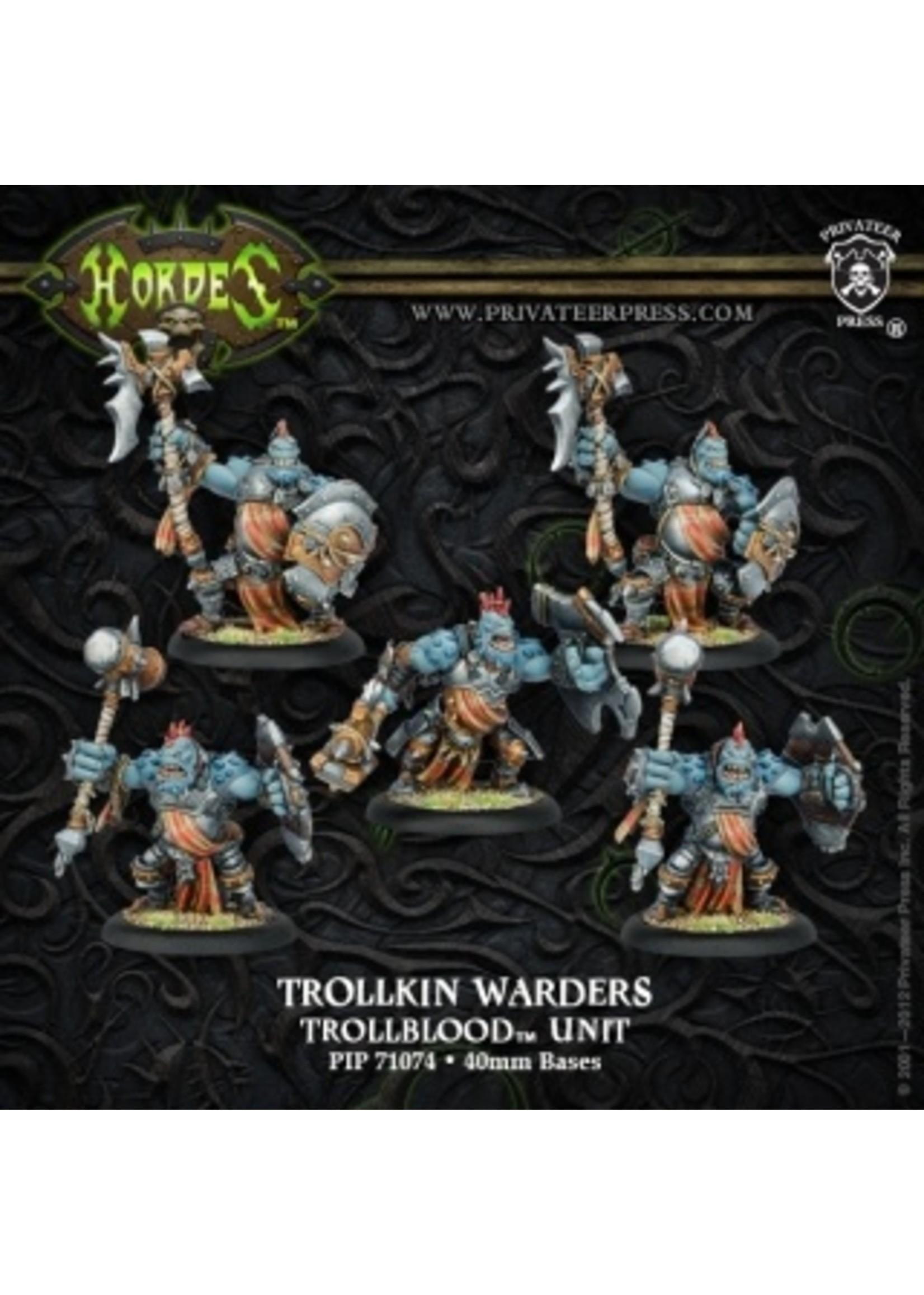 Hordes: Trollblood Trollkin Warders Unit (Plastic)