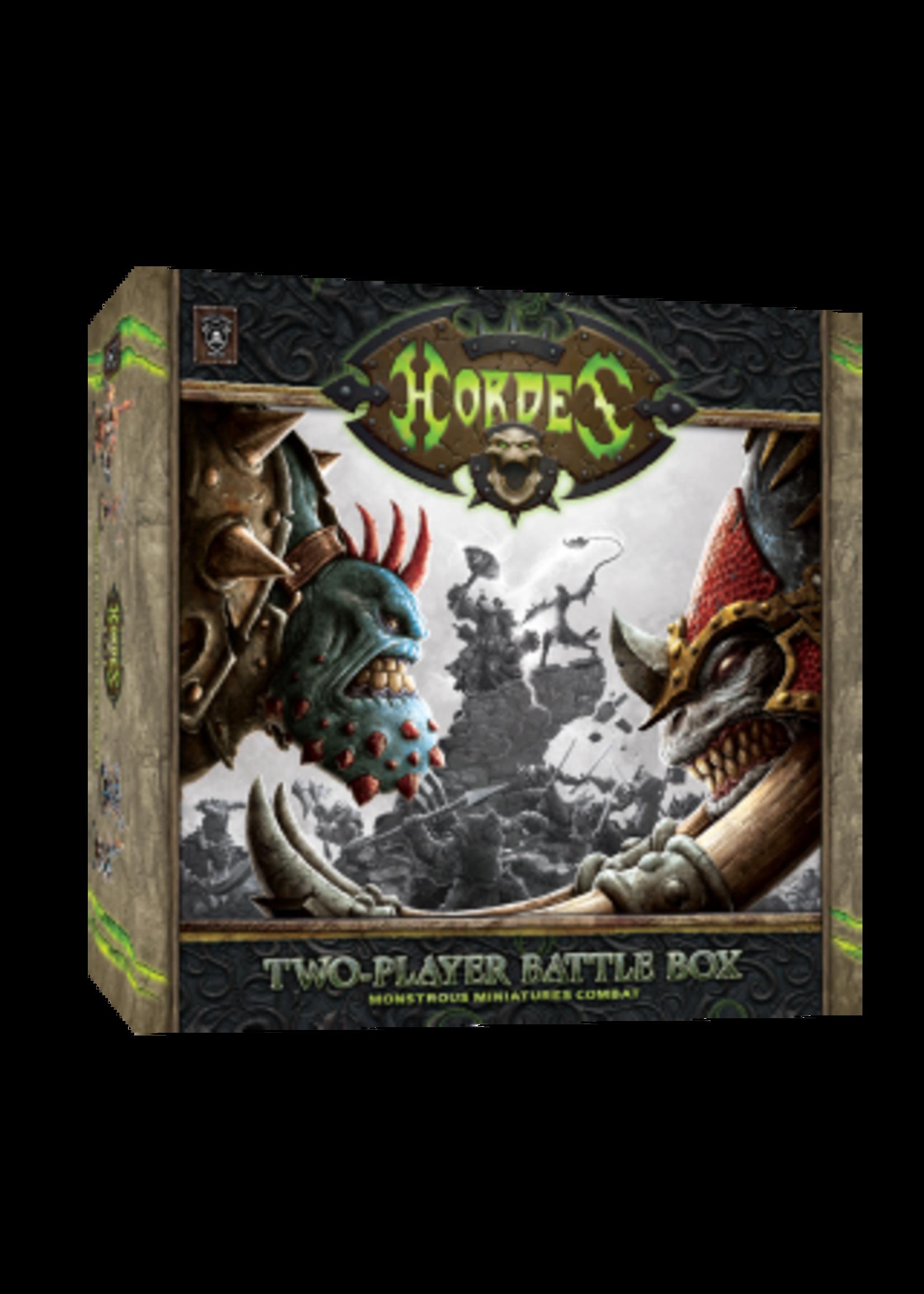 Hordes: Two-Player Battlegroup Box
