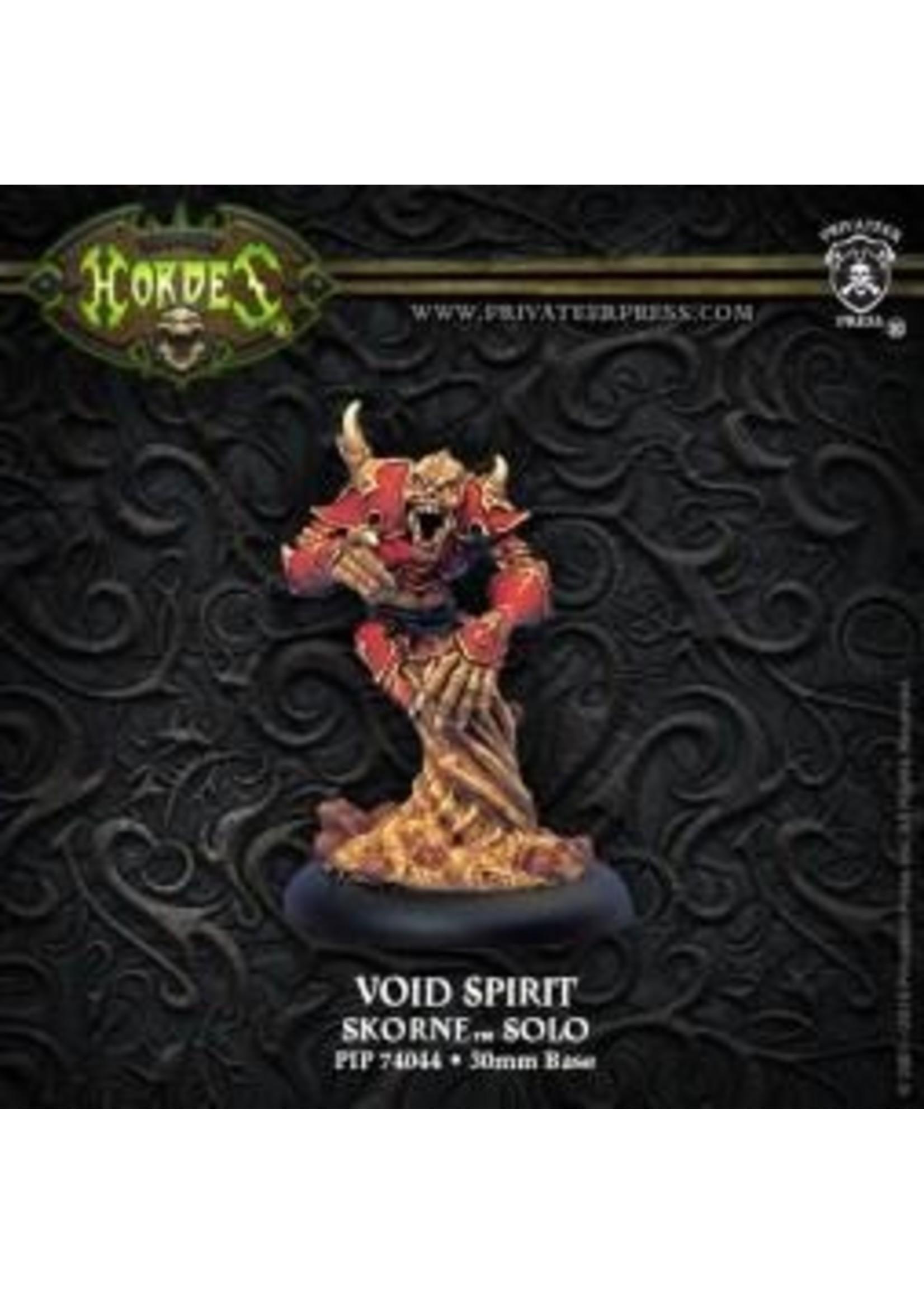 Hordes: Skorne Void Spirit Solo (White Metal)