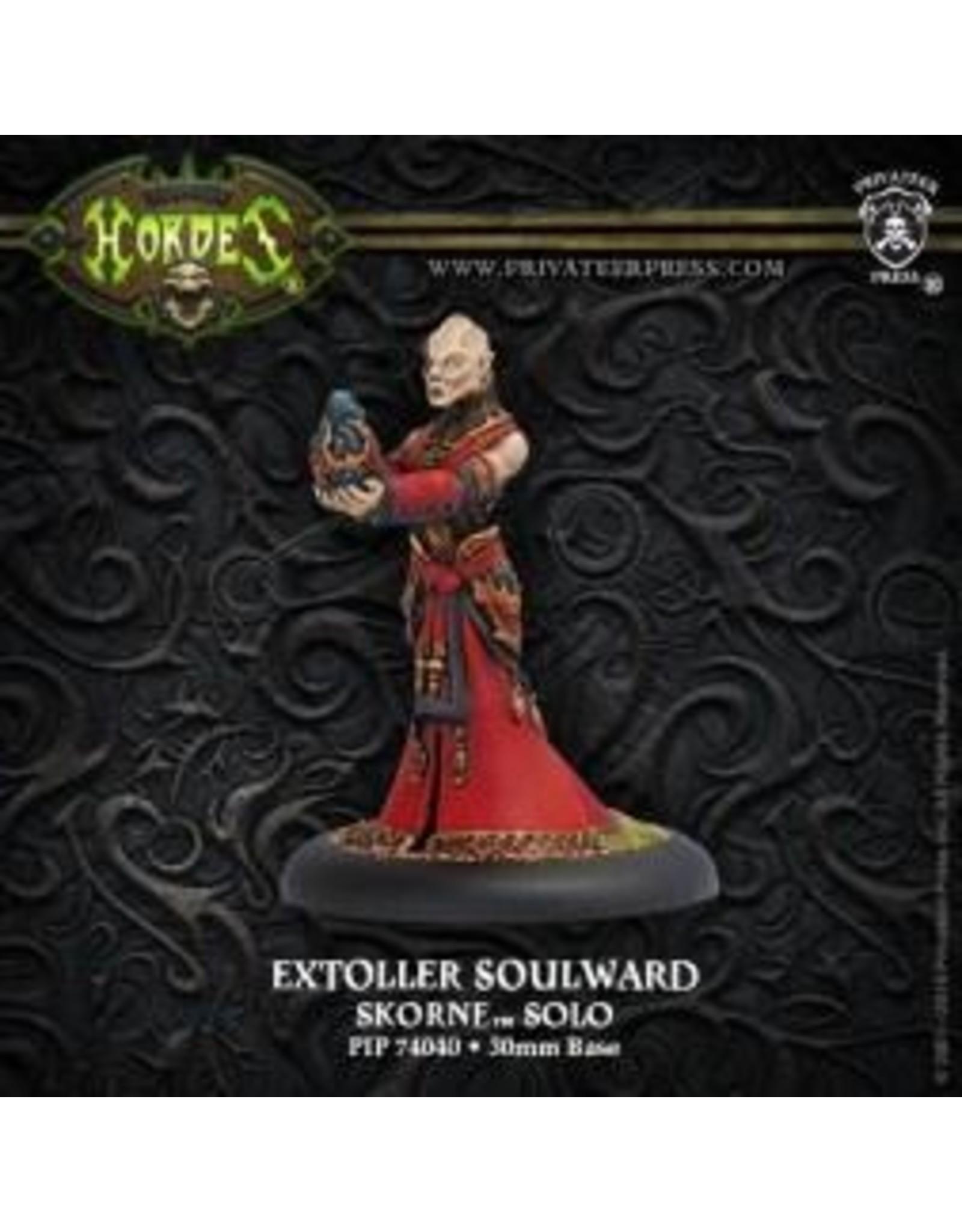 Hordes: Skorne Extoller Soulward Solo (White Metal)