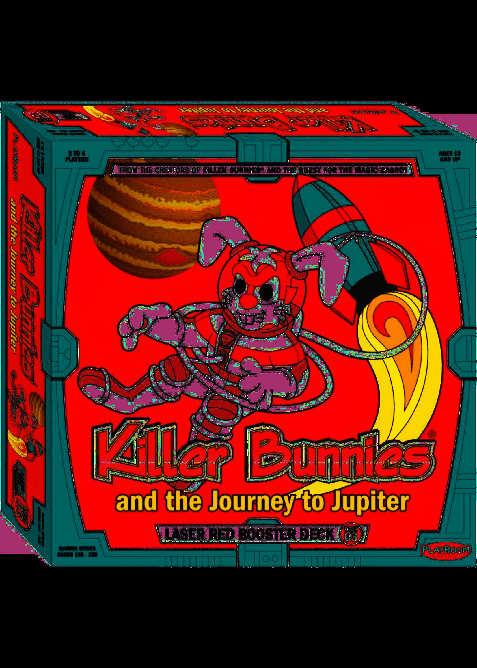 Killer Bunnies: Jupiter Laser Red Booster Deck