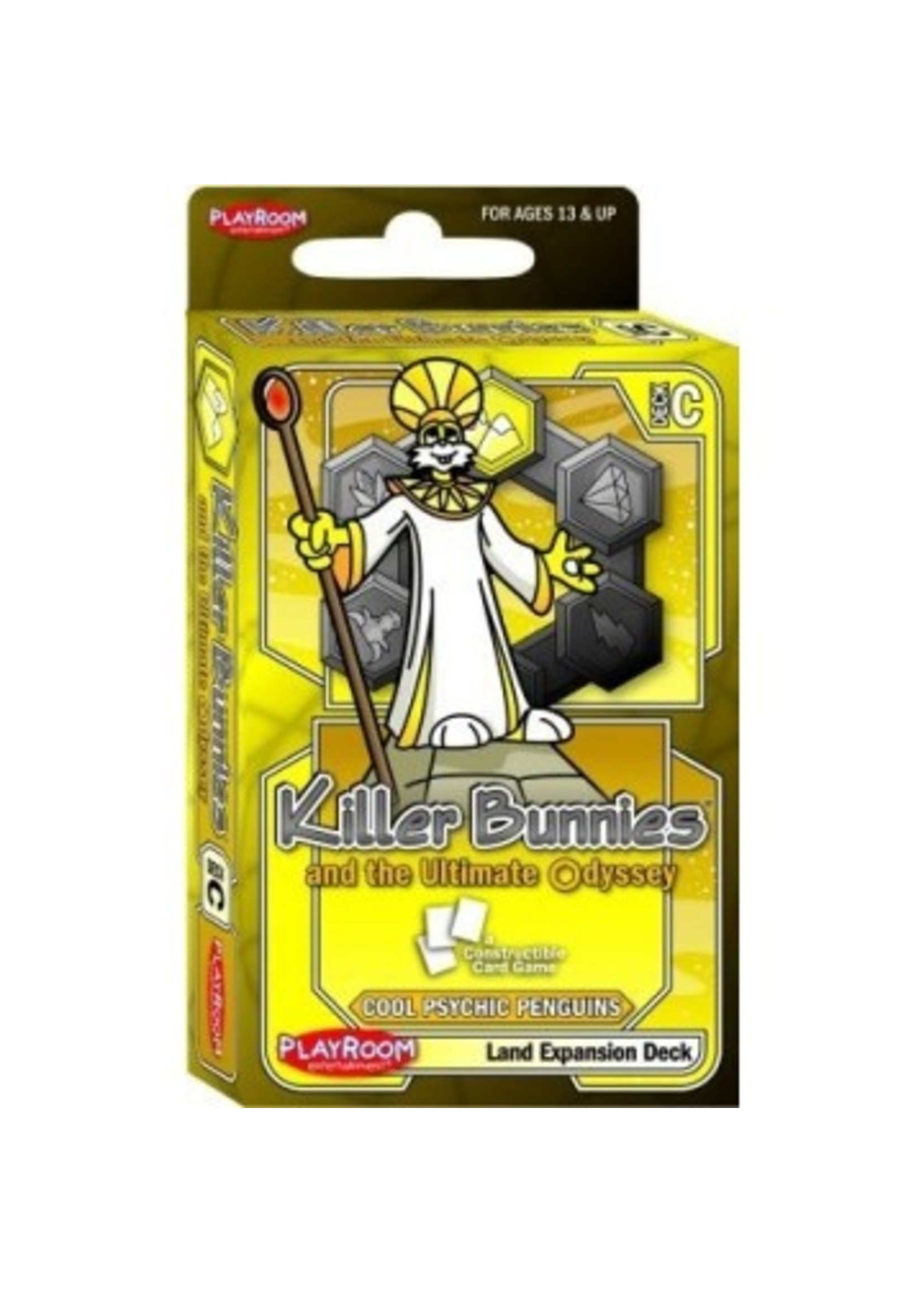 Killer Bunnies and the Ultimate Odyssey: Cool Psychic Penguin Land Expansion Deck (C)