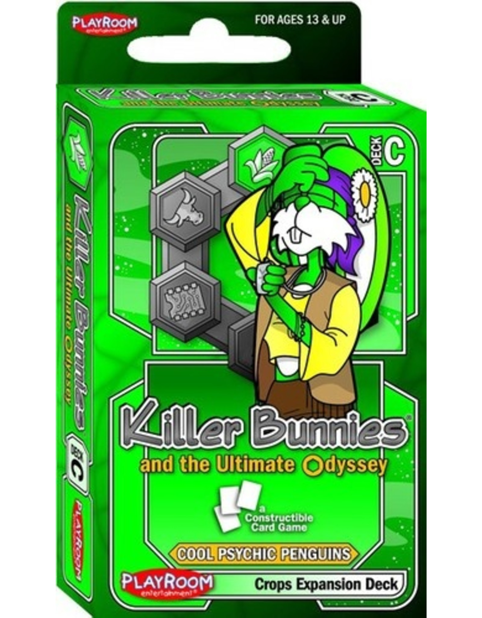 Killer Bunnies And The Ultimate Odyssey: Cool Psychic Penguin Crops Expansion Deck (c)