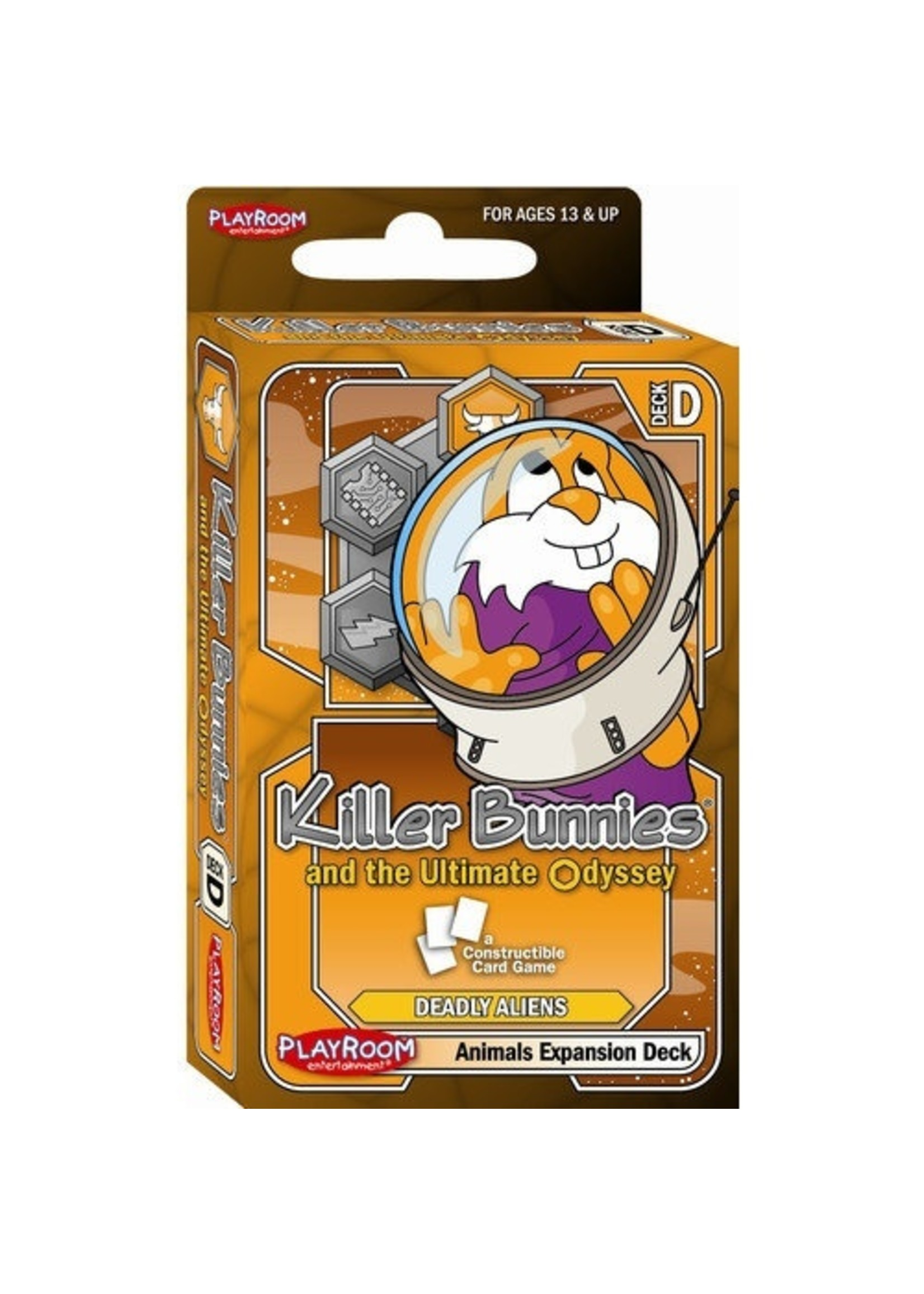 Killer Bunnies and the Ultimate Odyssey: Animals Exp Deck D