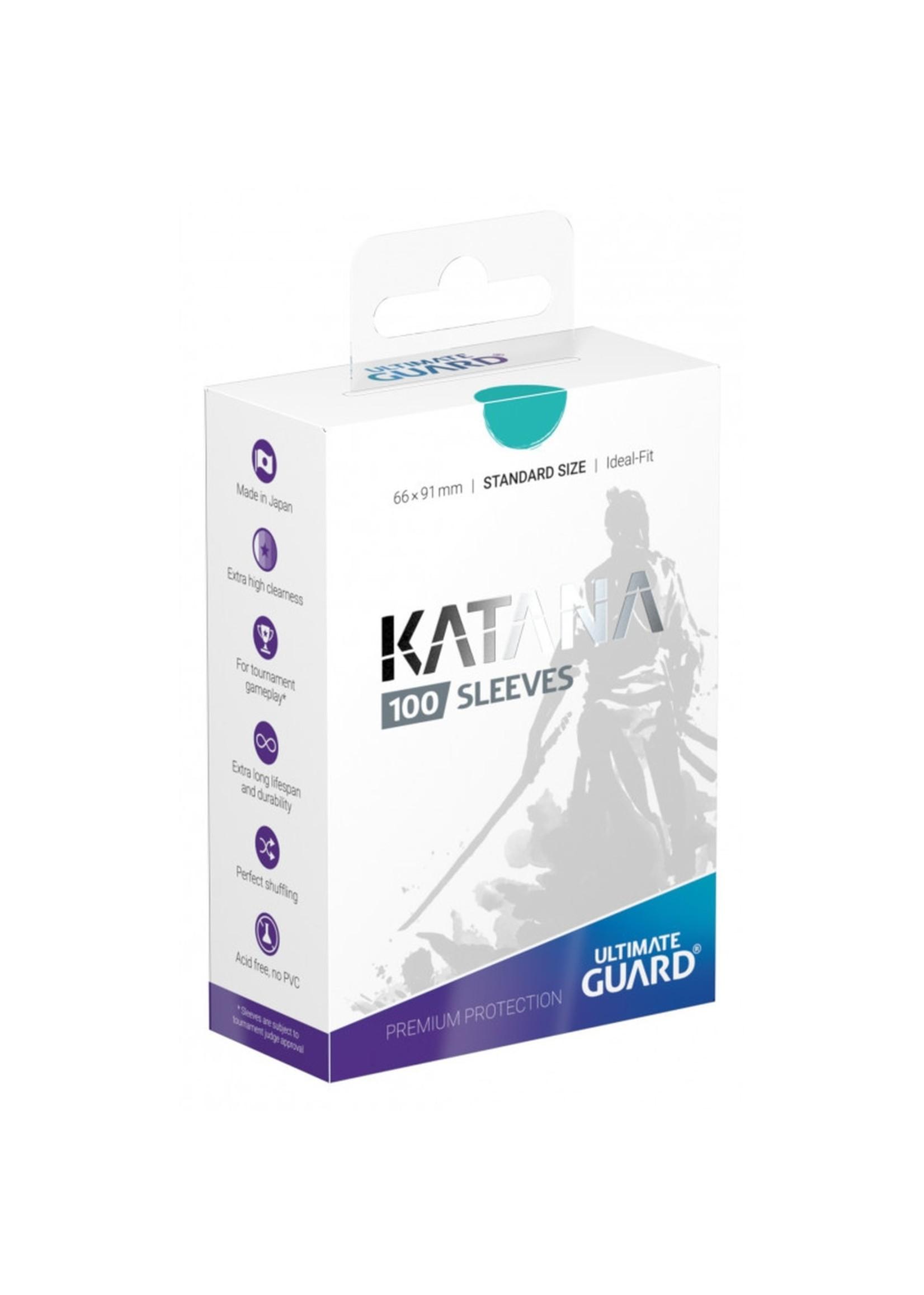 Katana Card Sleeves 100ct Turquoise