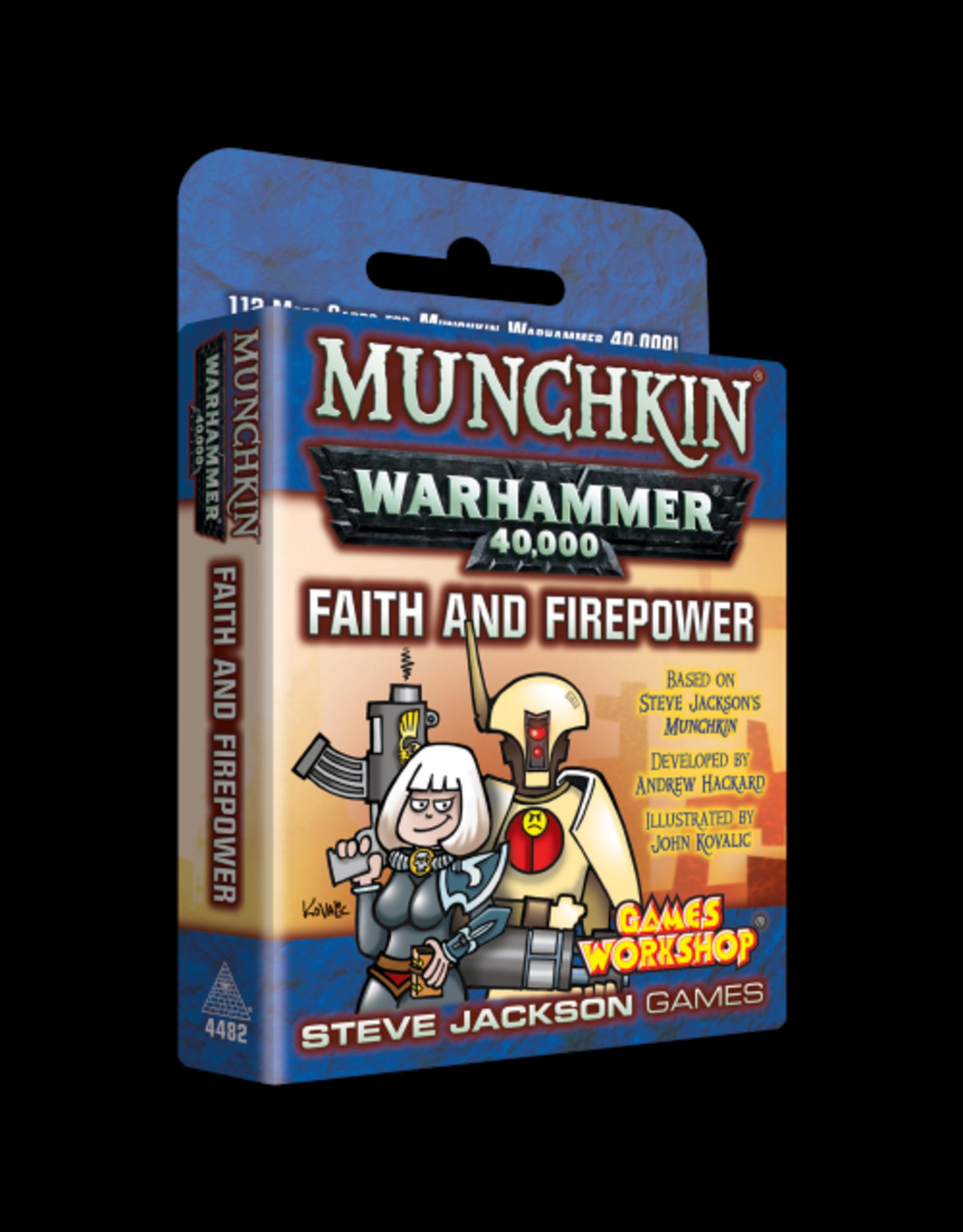 Munchkin: Warhammer 40K - Faith and Firepower