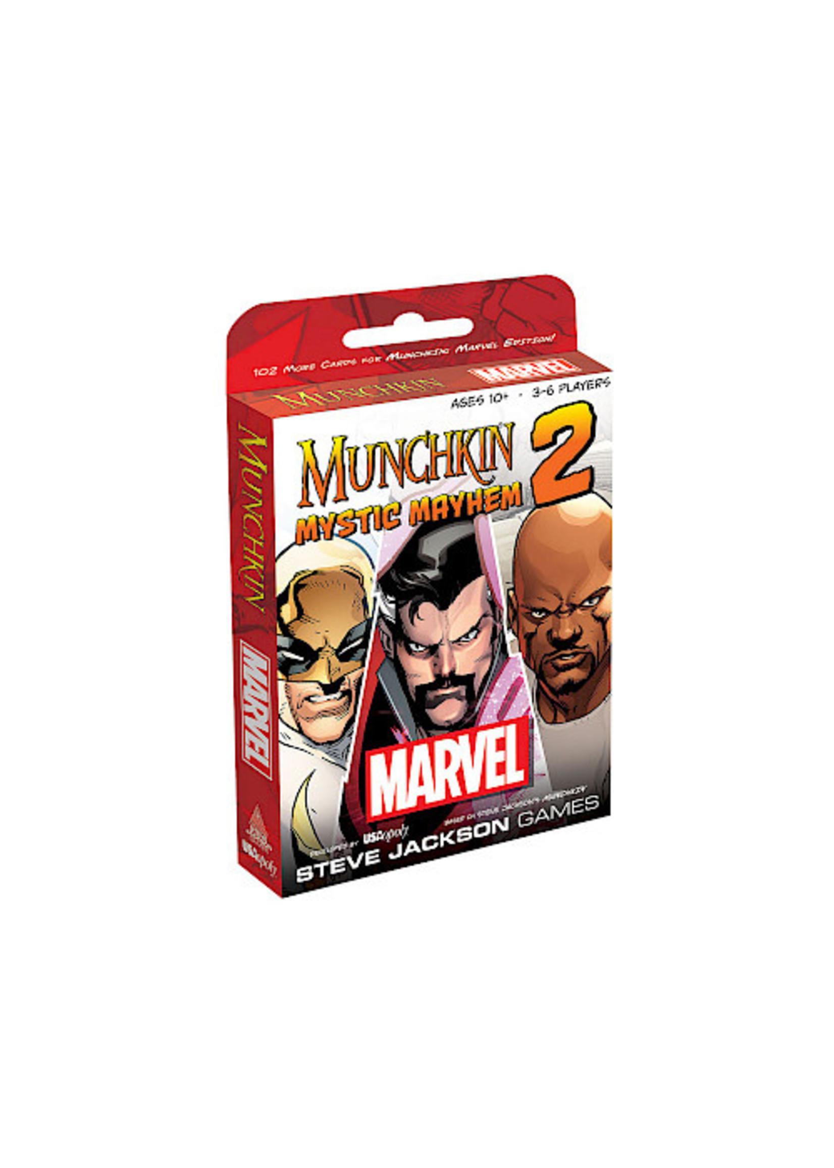 Munchkin: Marvel Edition 2 - Mystic Mayhem Expansion