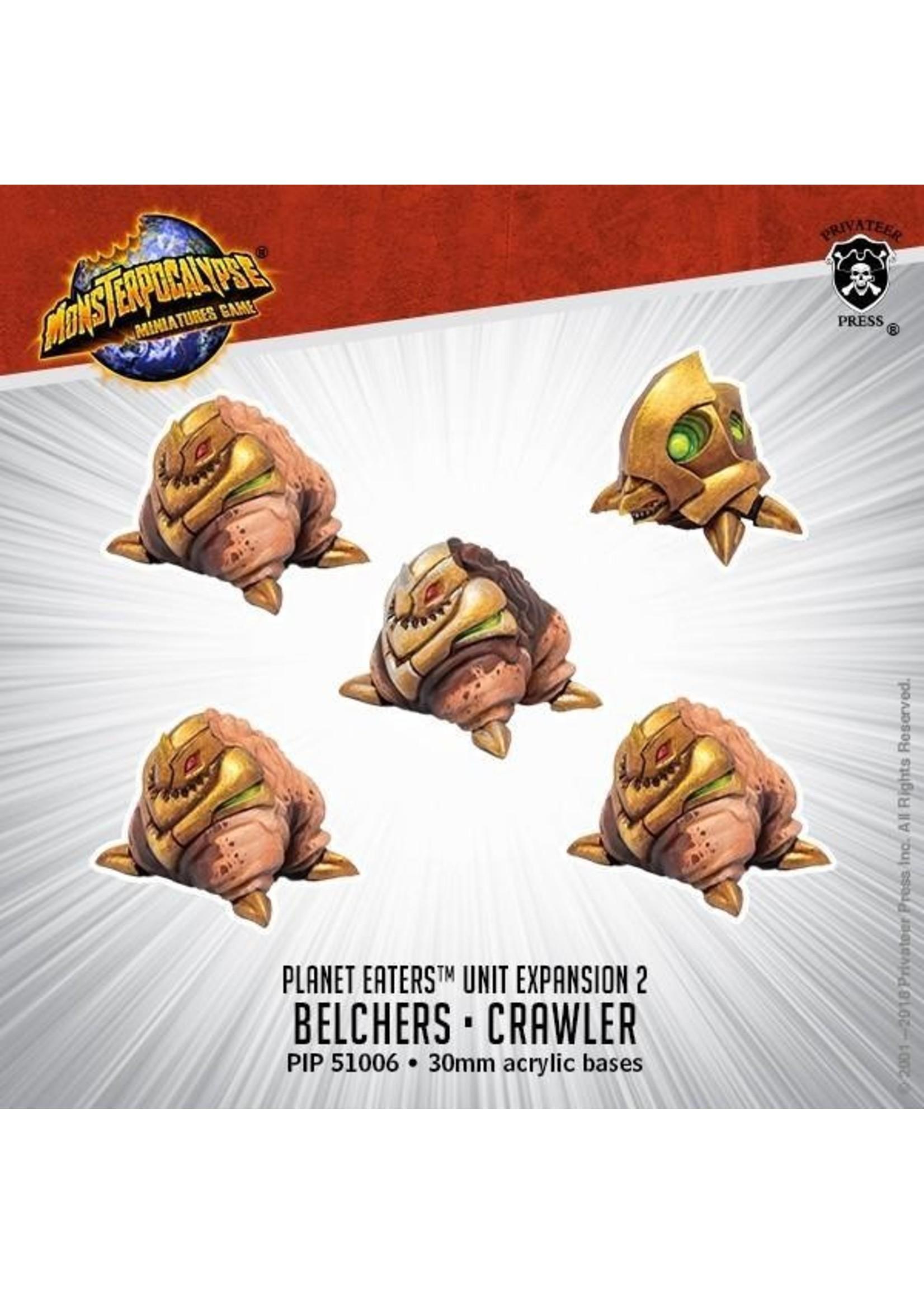 Monsterpocalypse: Planet Eaters Belchers & Crawlers Unit (Resin)
