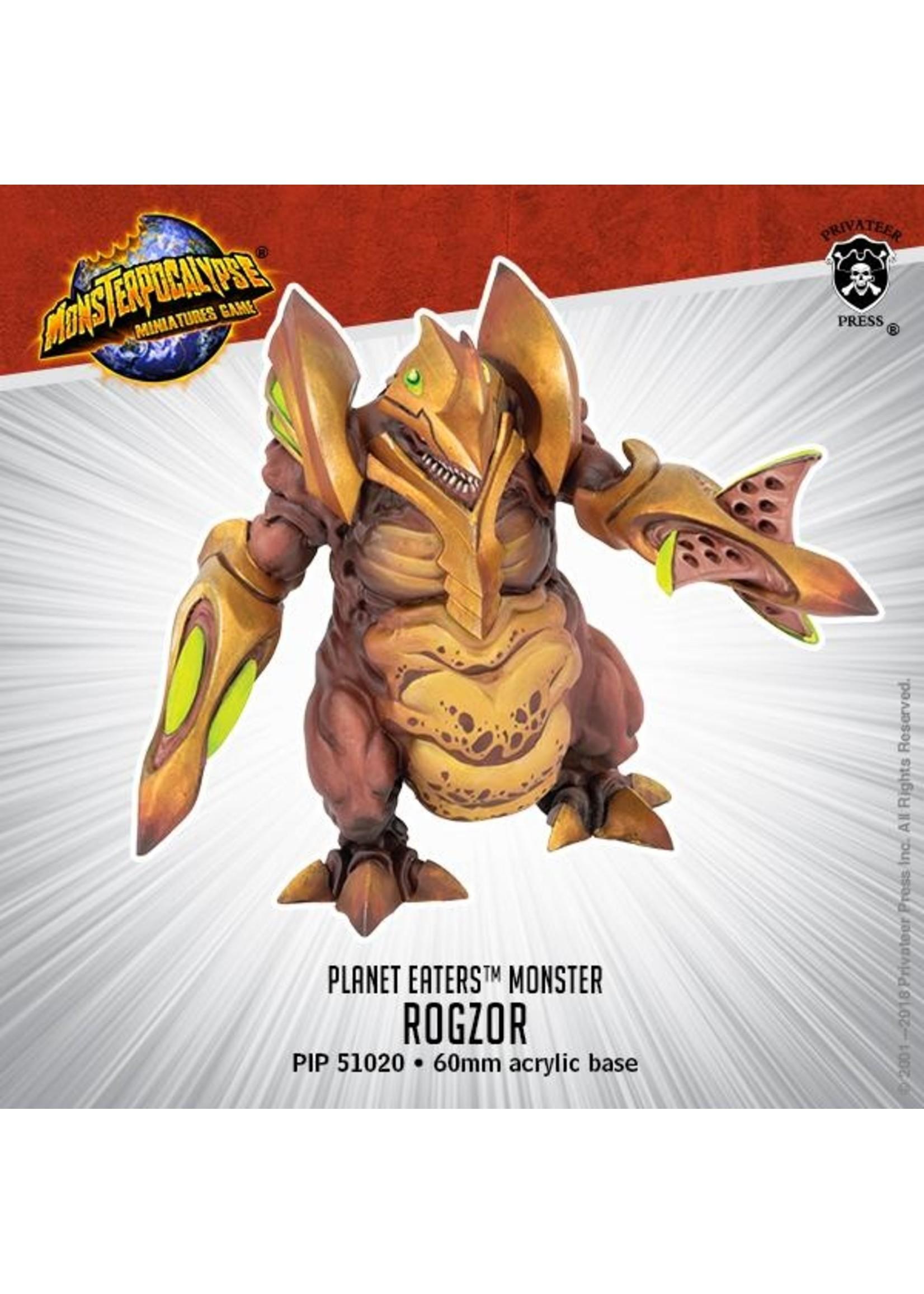 Monsterpocalypse: Planet Eaters Rogzor Monster (Resin)