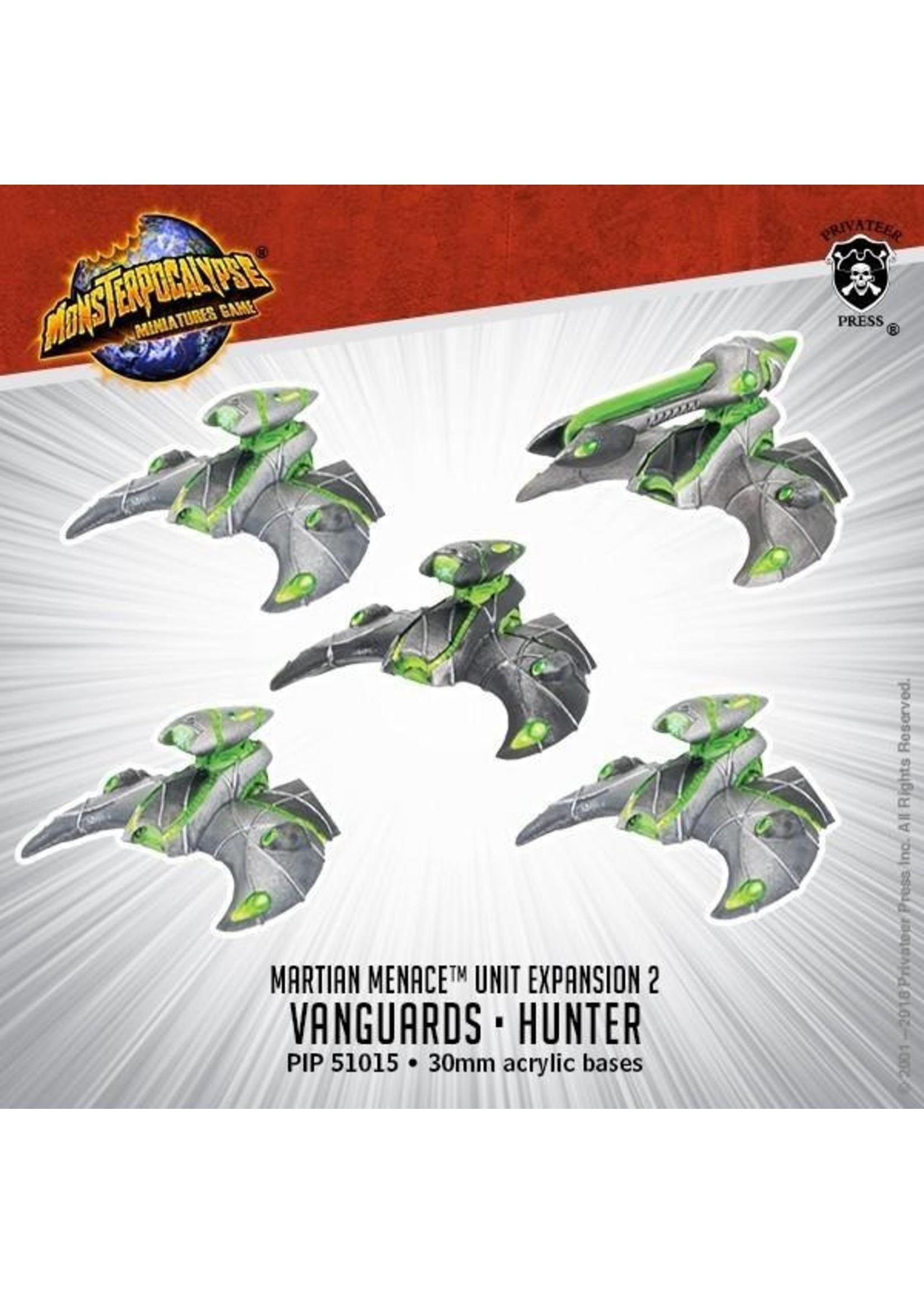 Monsterpocalypse: Martian Menace Vanguard and Hunter Units (Resin)