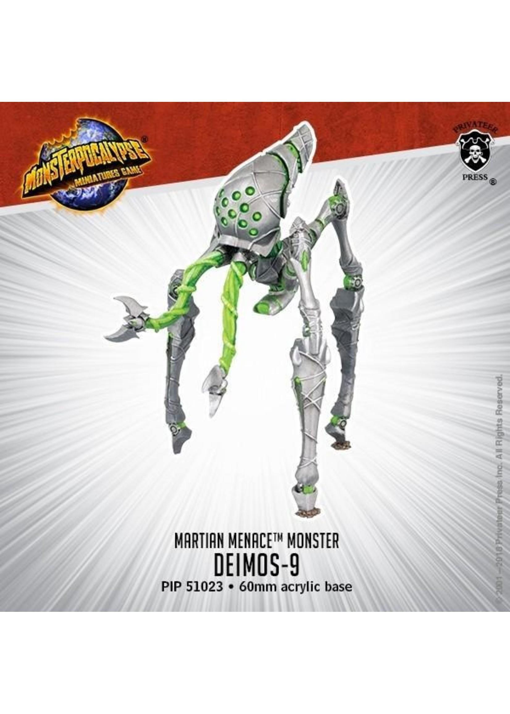 Monsterpocalypse: Martian Menace Deimos-9 Monster (Resin)