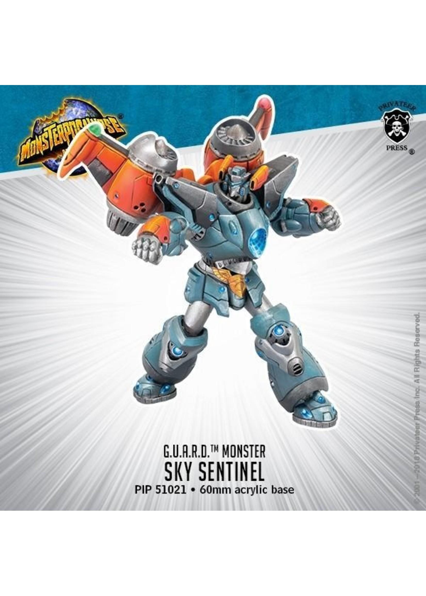 Monsterpocalypse: G.U.A.R.D. Sky Sentinel Monster (Resin)