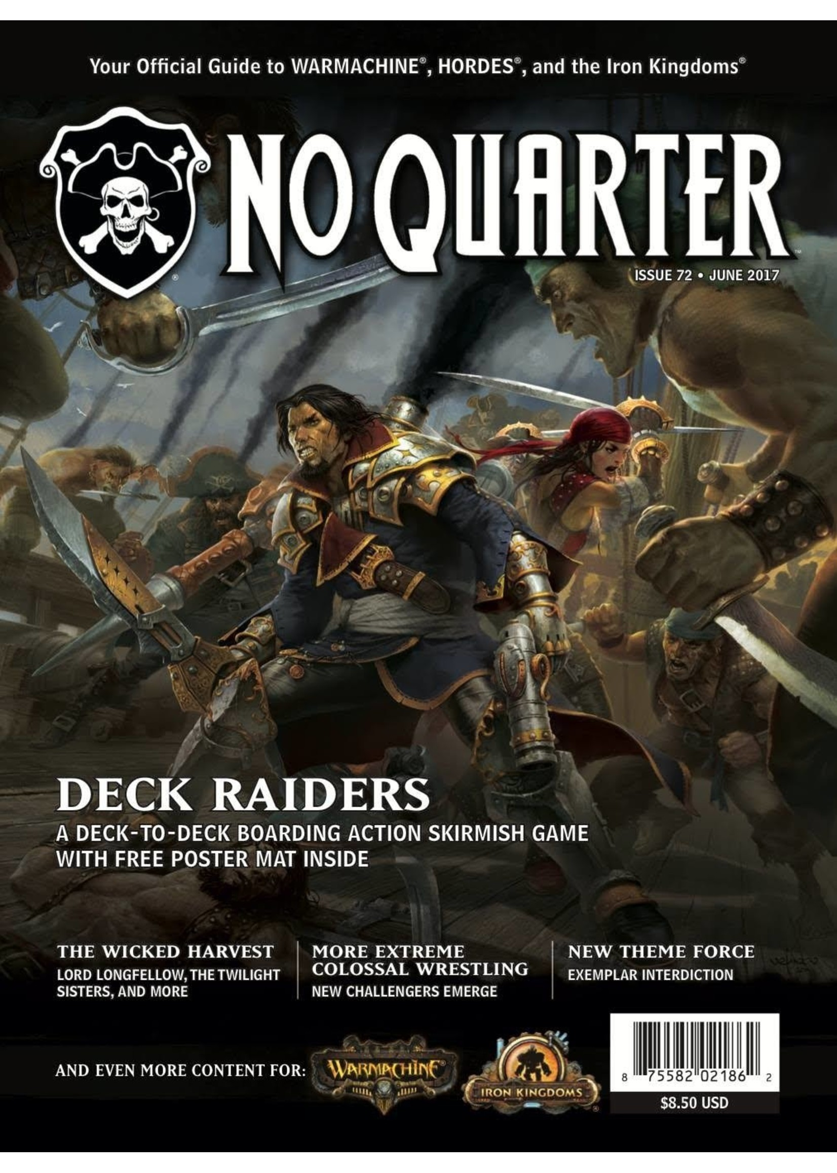 No Quarter Magazine #72