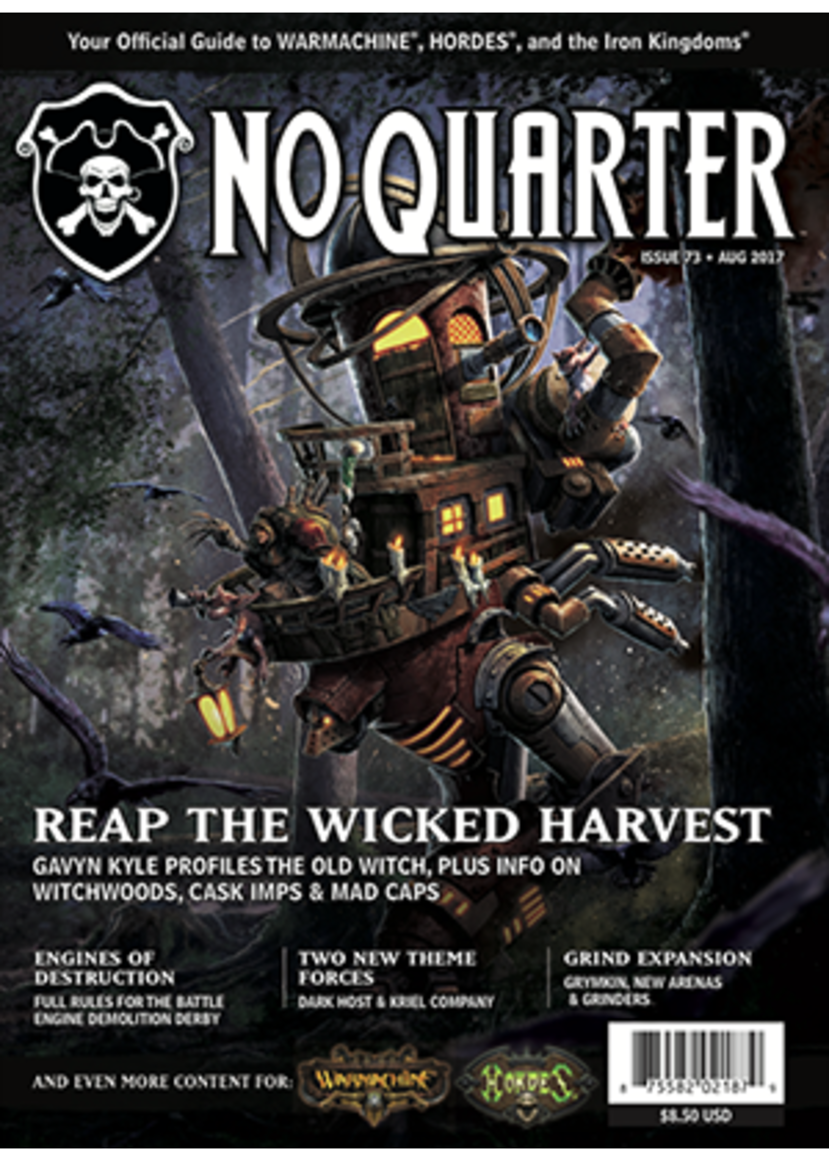 No Quarter Magazine #73