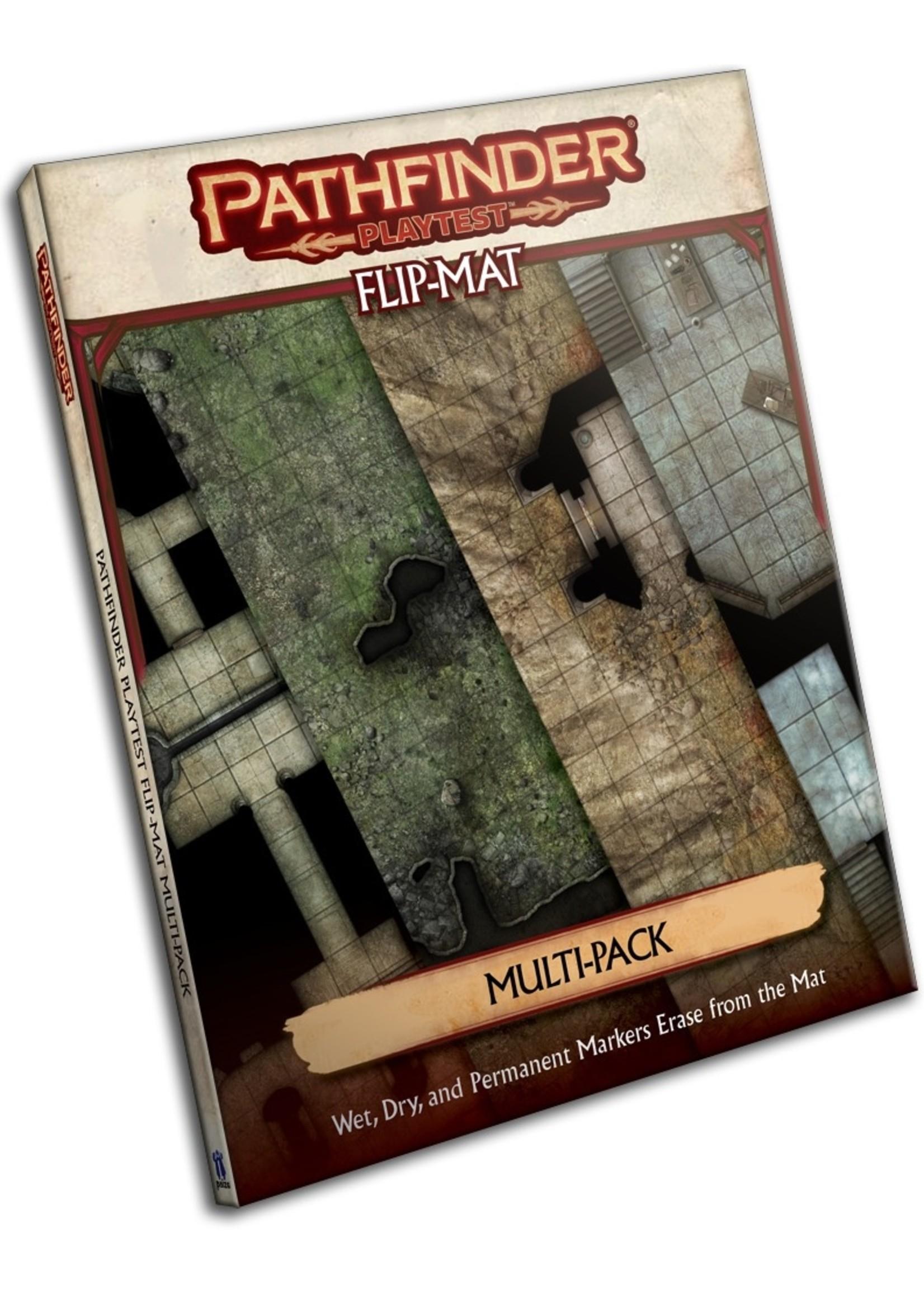 Pathfinder Playtest RPG: Flip-Mat - Multi-Pack