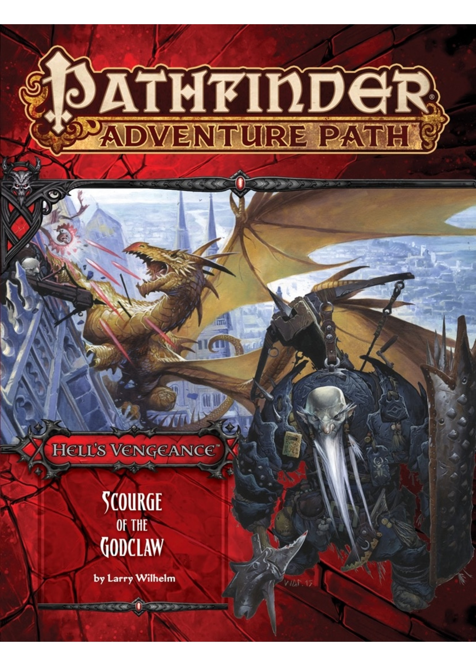 Pathfinder RPG: Adventure Path - Hell's Vengeance Part 5 - Scourge of the Godclaw