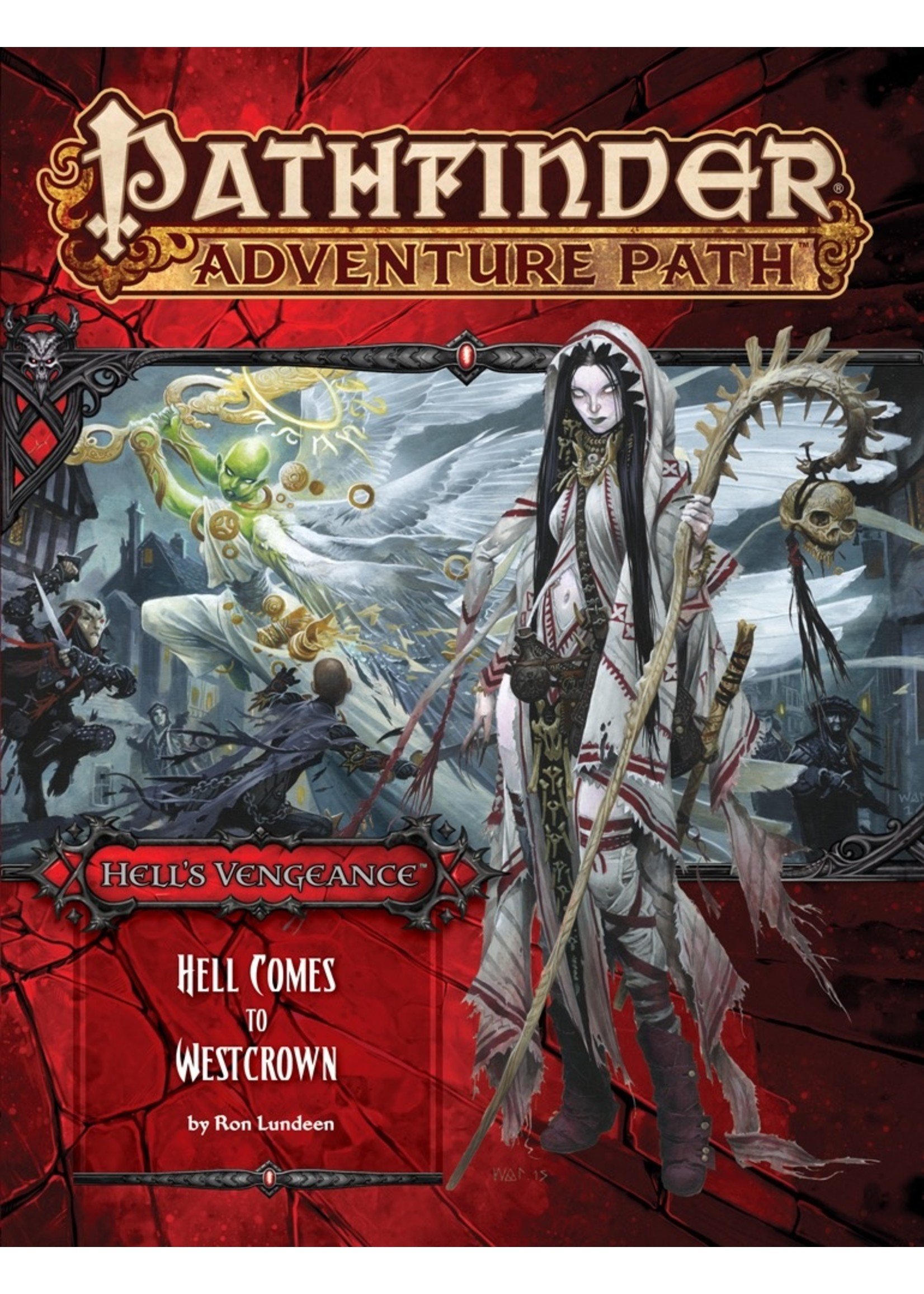 Pathfinder RPG: Adventure Path - Hell's Vengeance Part 6 - Hell Comes to Westcrown