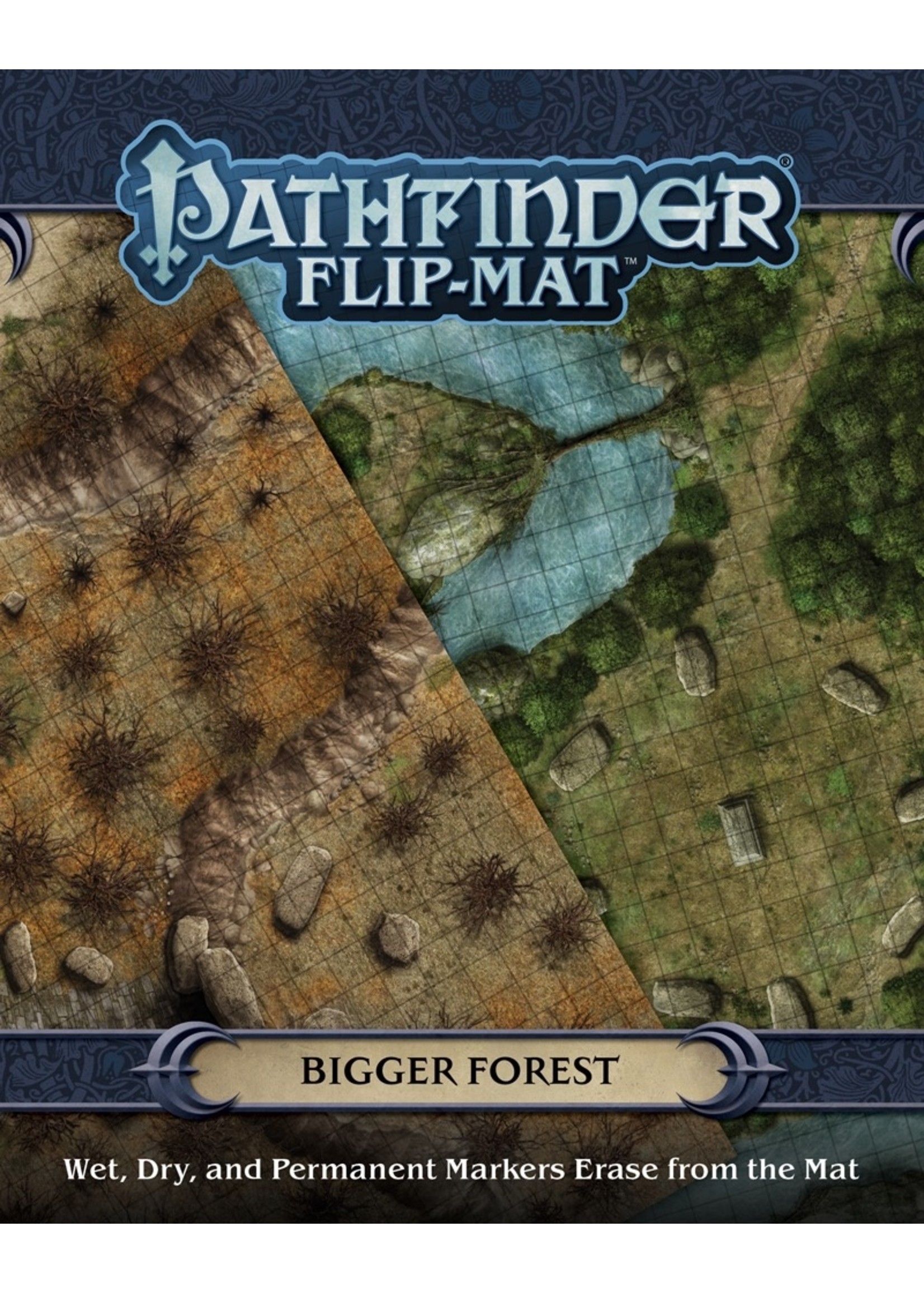 Pathfinder RPG: Flip-Mat - Bigger Forest