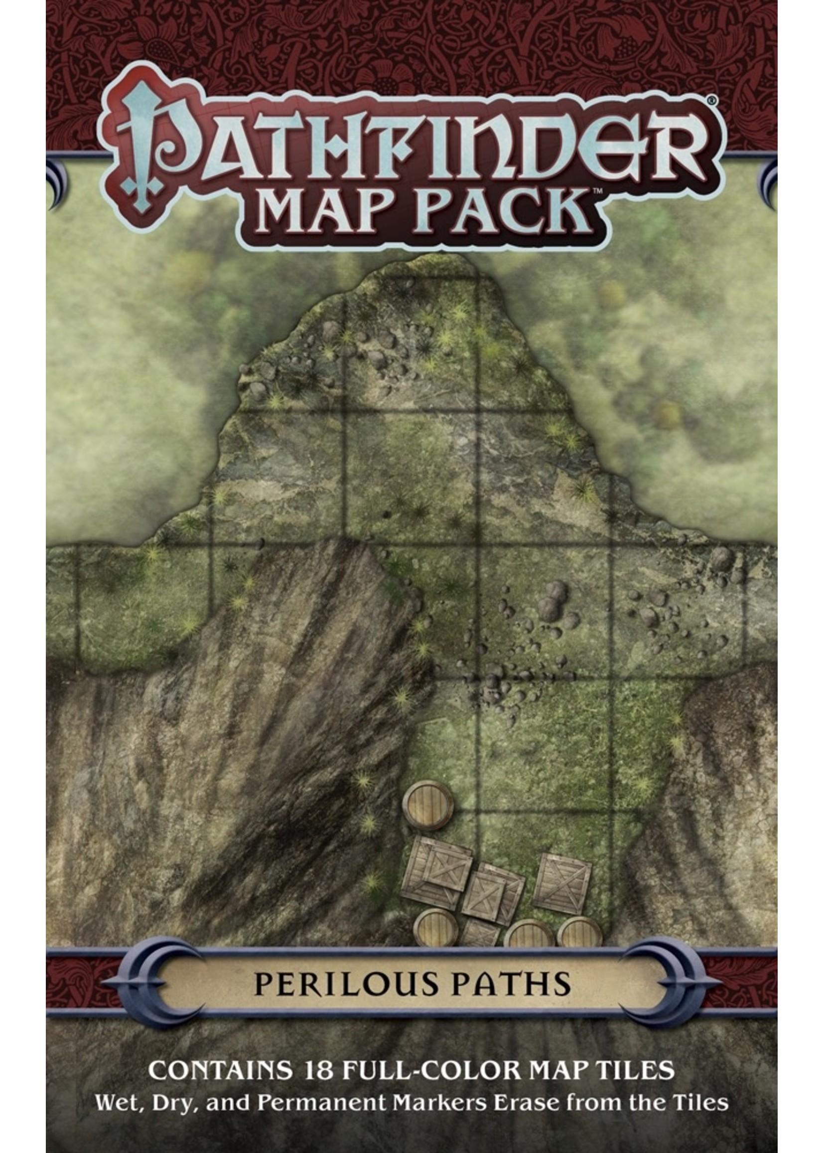 Pathfinder RPG: Map Pack - Perilous Paths