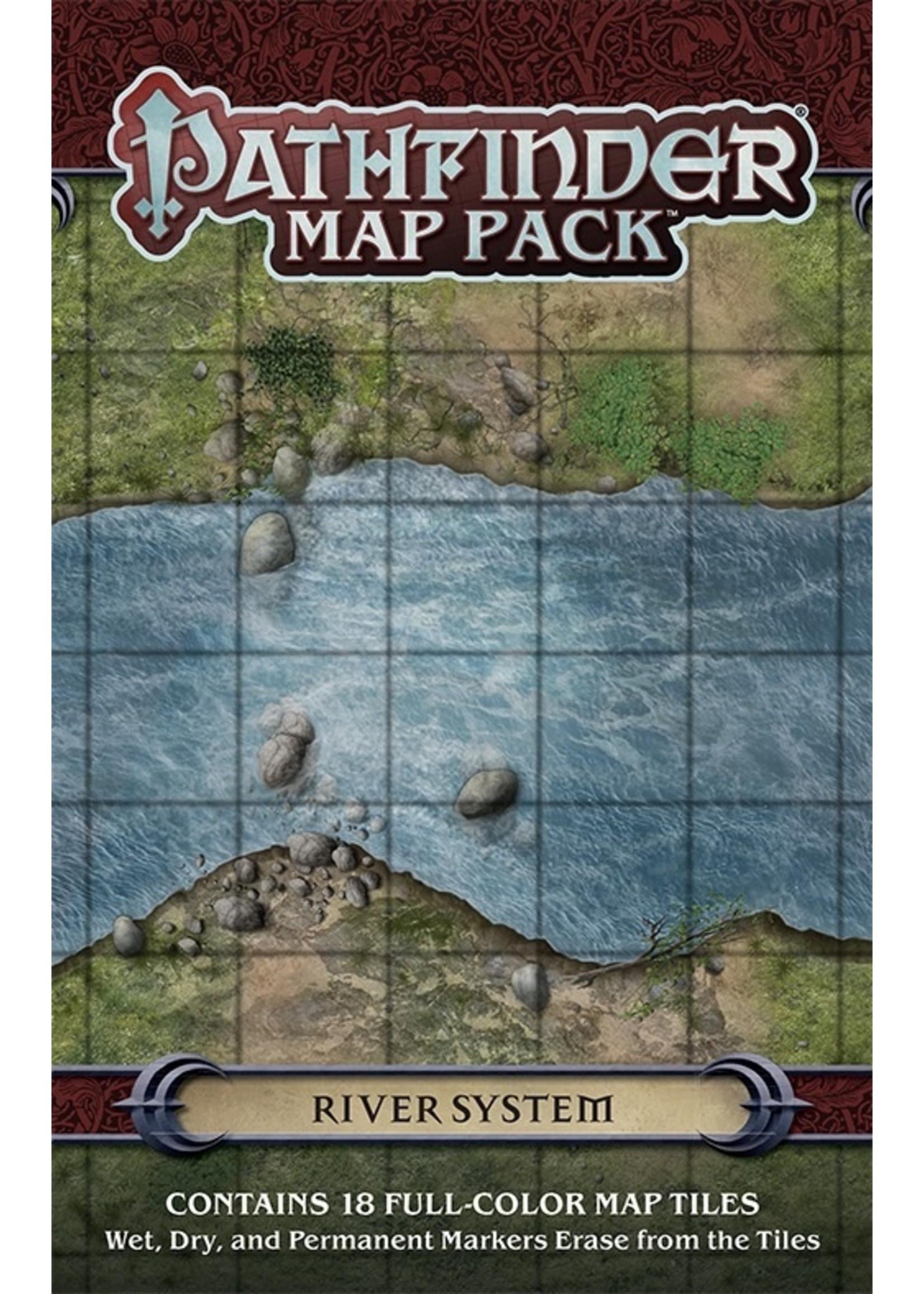 Pathfinder RPG: Map Pack - River System