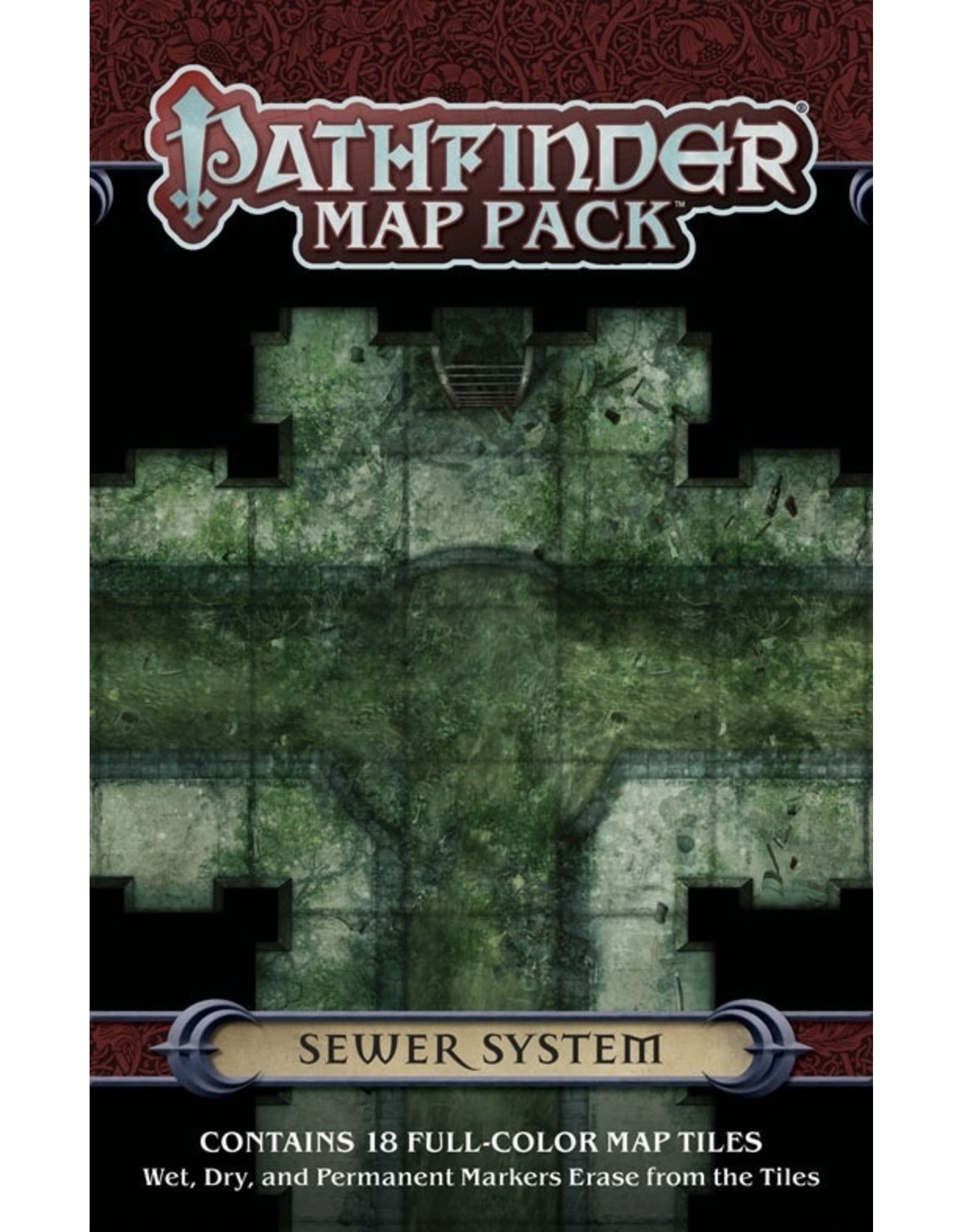 Pathfinder RPG: Map Pack - Sewer System