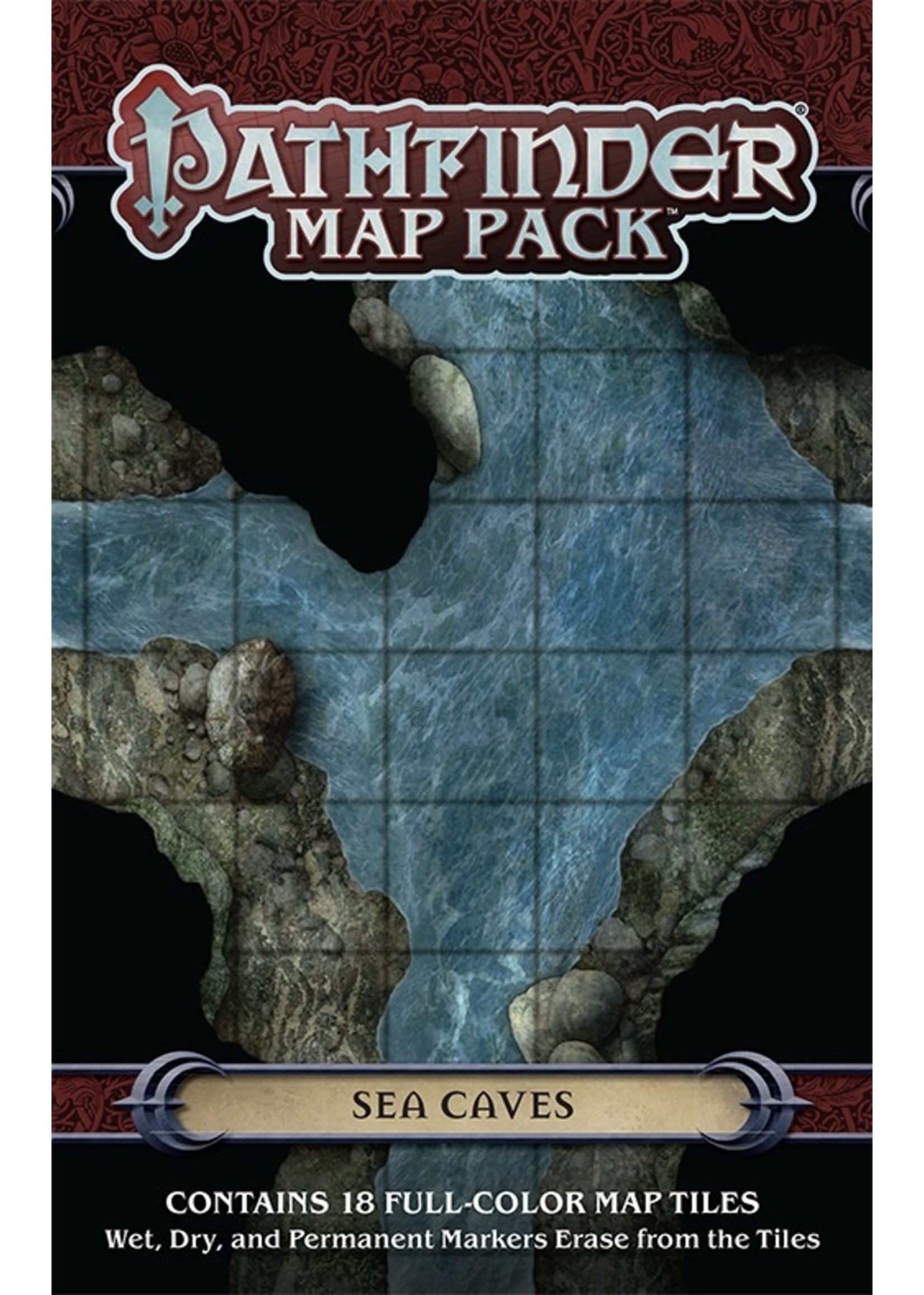 Pathfinder RPG: Map Pack - Sea Caves