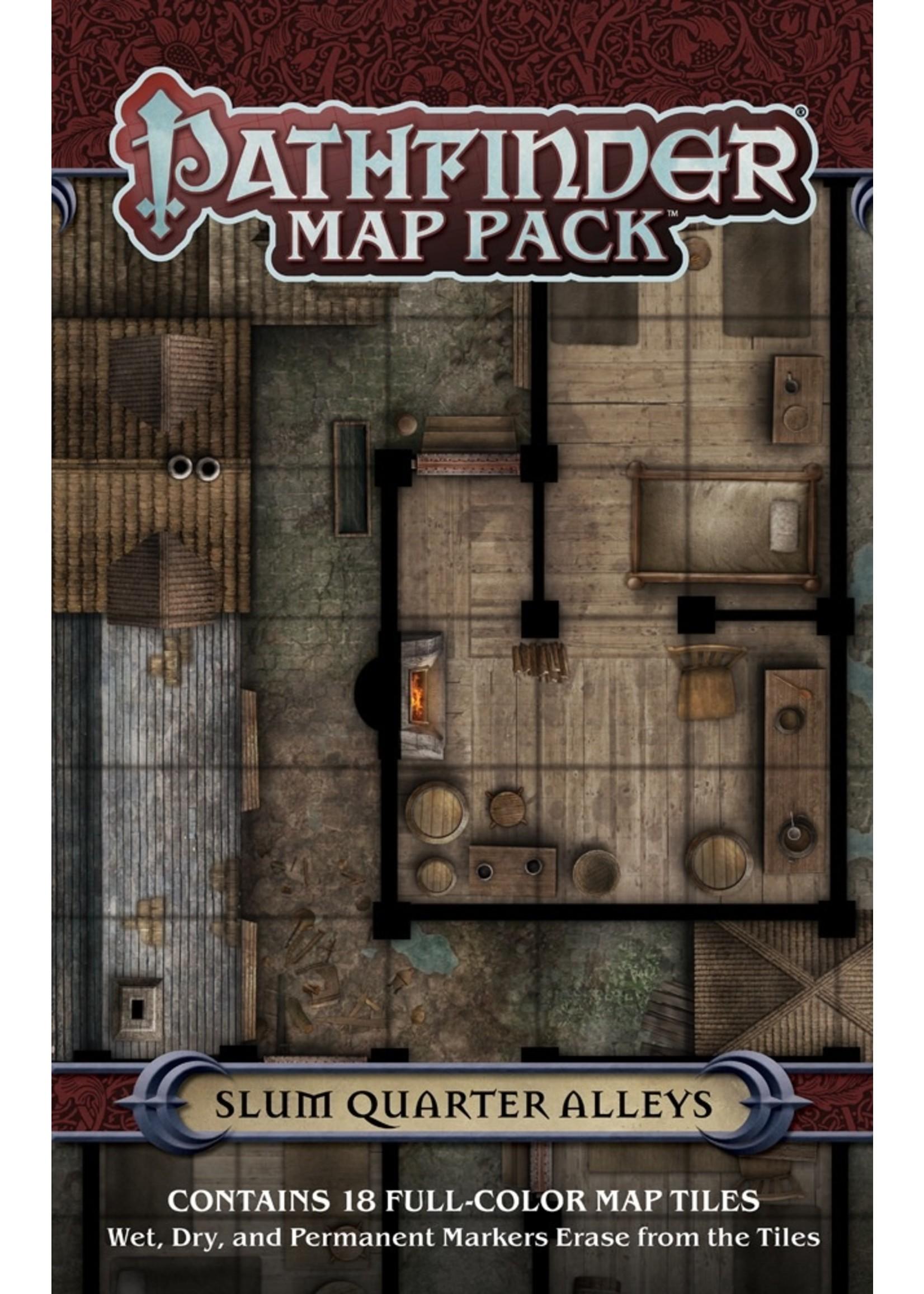 Pathfinder RPG: Map Pack - Slum Quarter Alleys