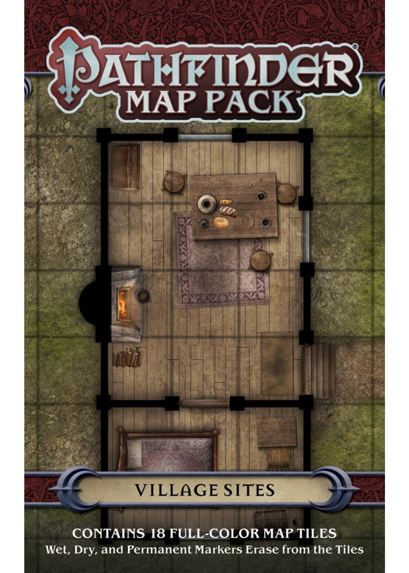 Pathfinder RPG: Map Pack - Village Sites