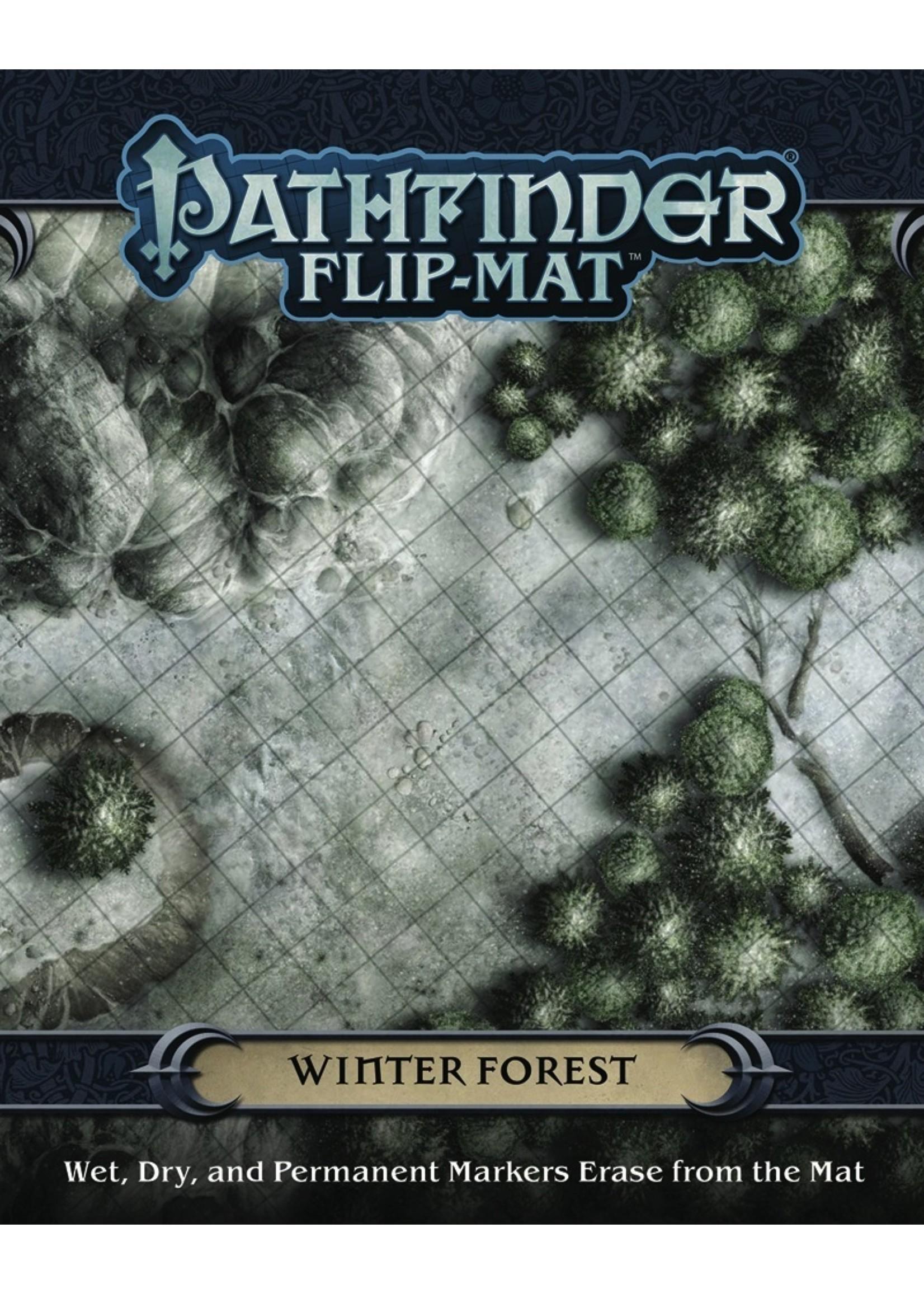 Pathfinder RPG: Flip-Mat - Winter Forest