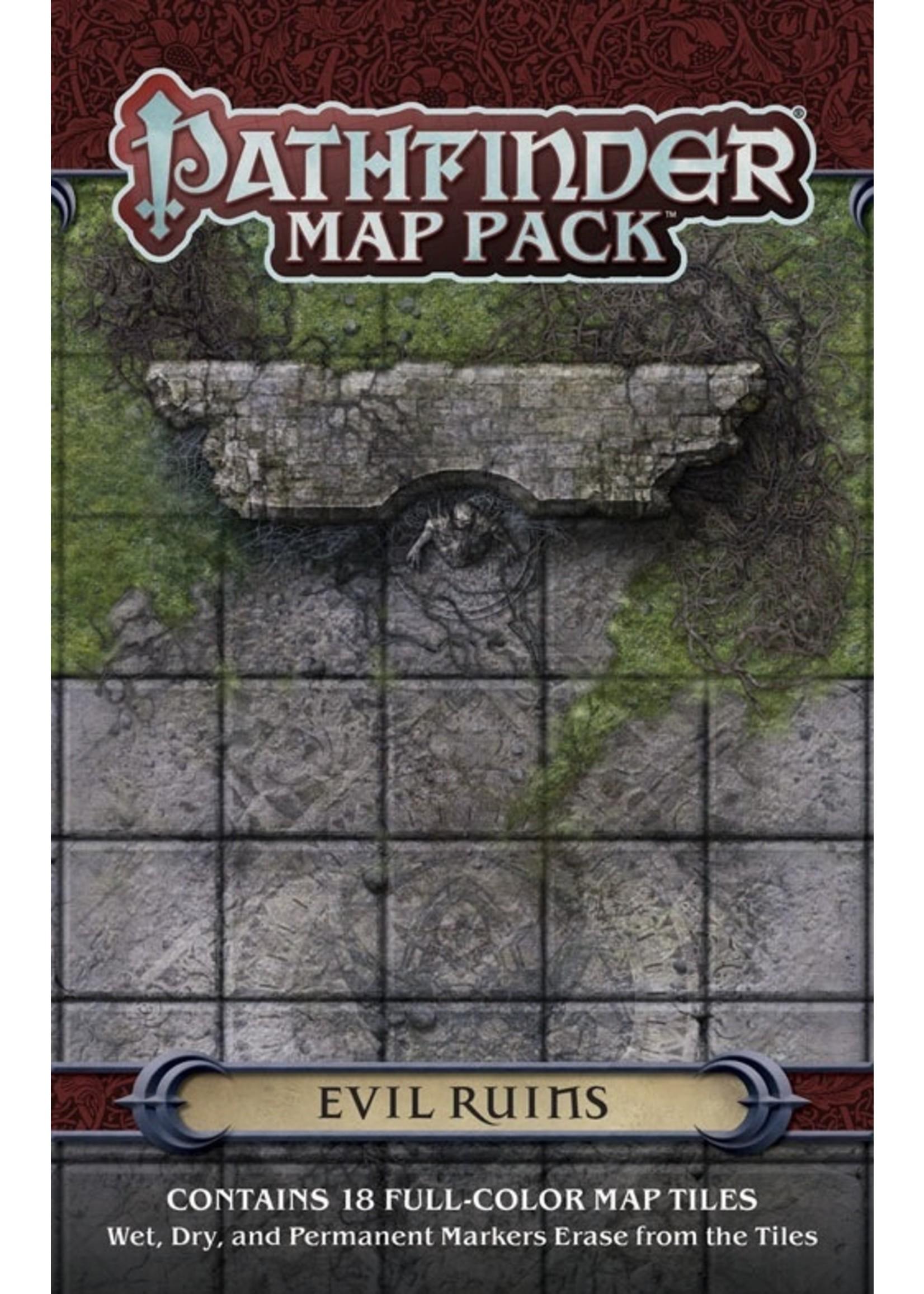 Pathfinder RPG: Map Pack - Evil Ruins