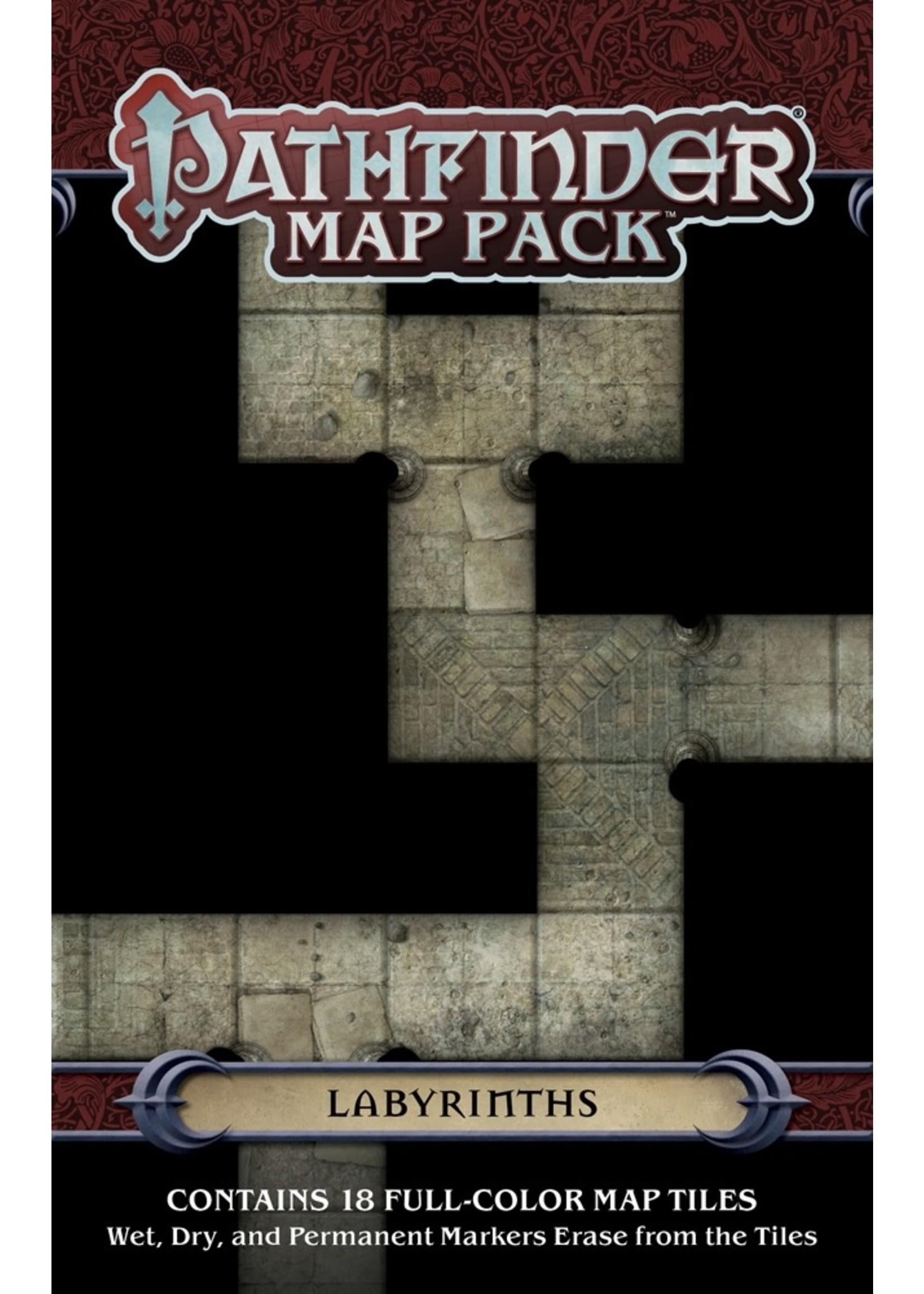 Pathfinder RPG: Map Pack - Labyrinths