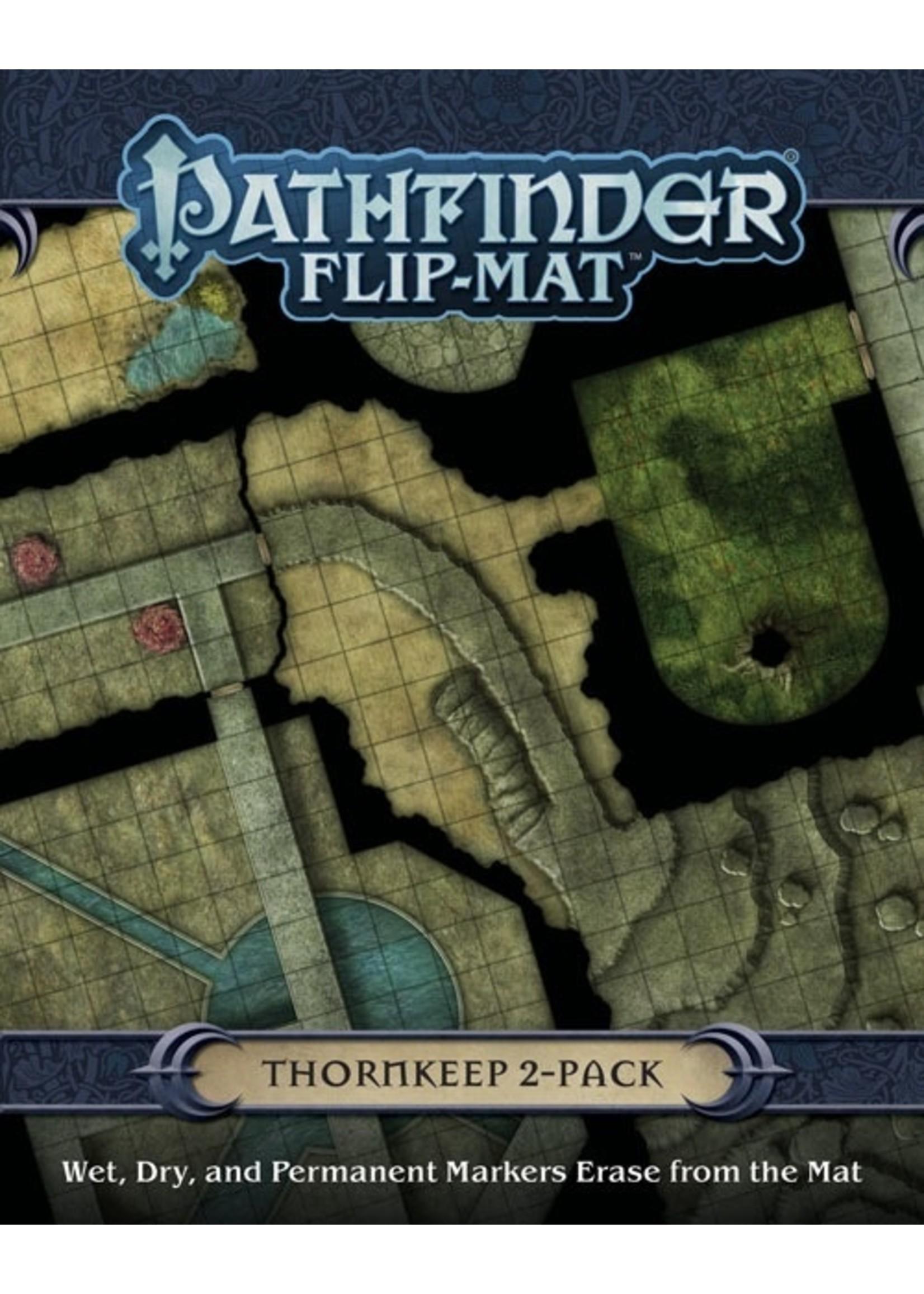 Pathfinder RPG: Flip-Mat - Thornkeep Dungeons 2 Pack