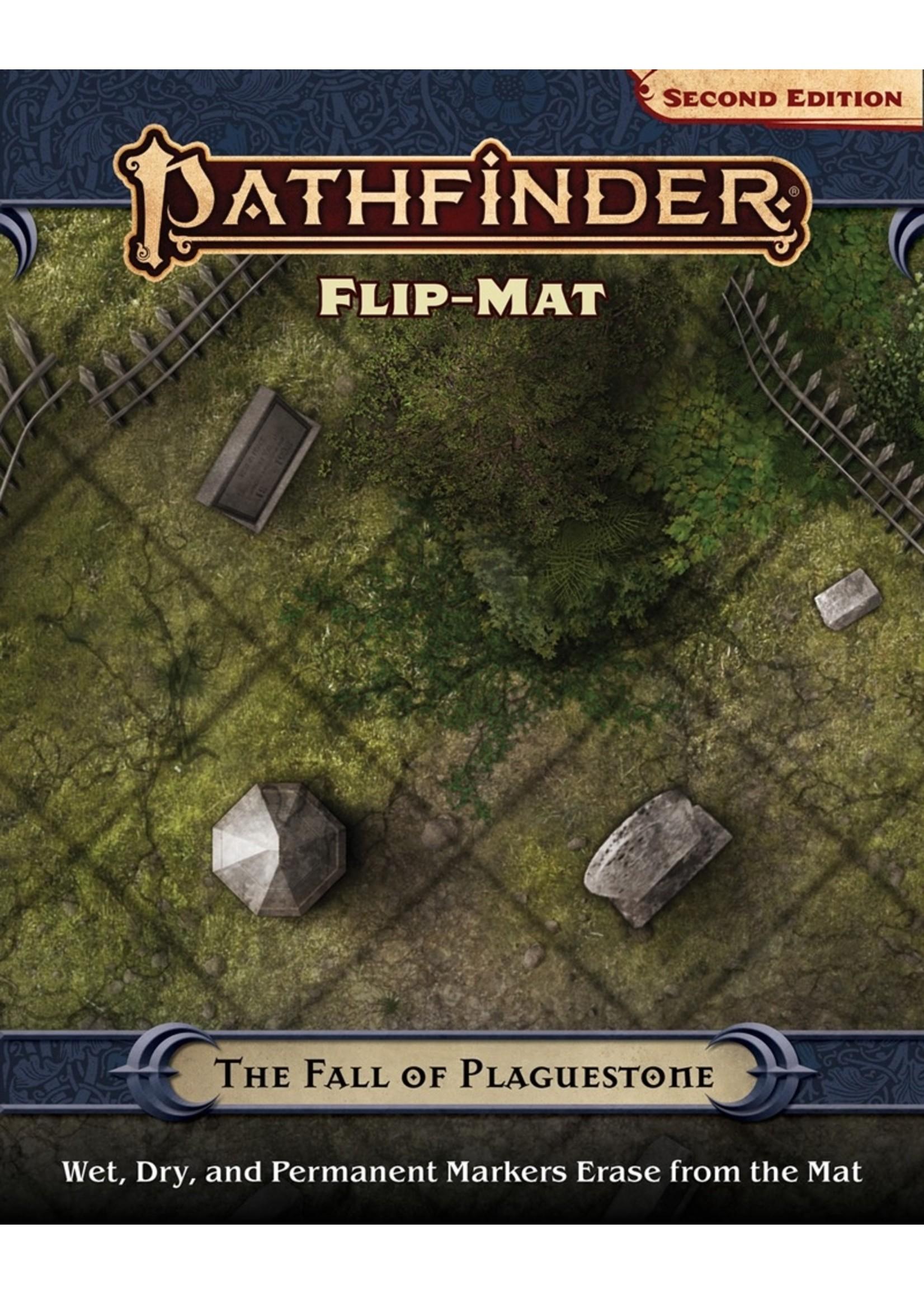 Pathfinder RPG: Flip-Mat - The Fall of Plaguestone