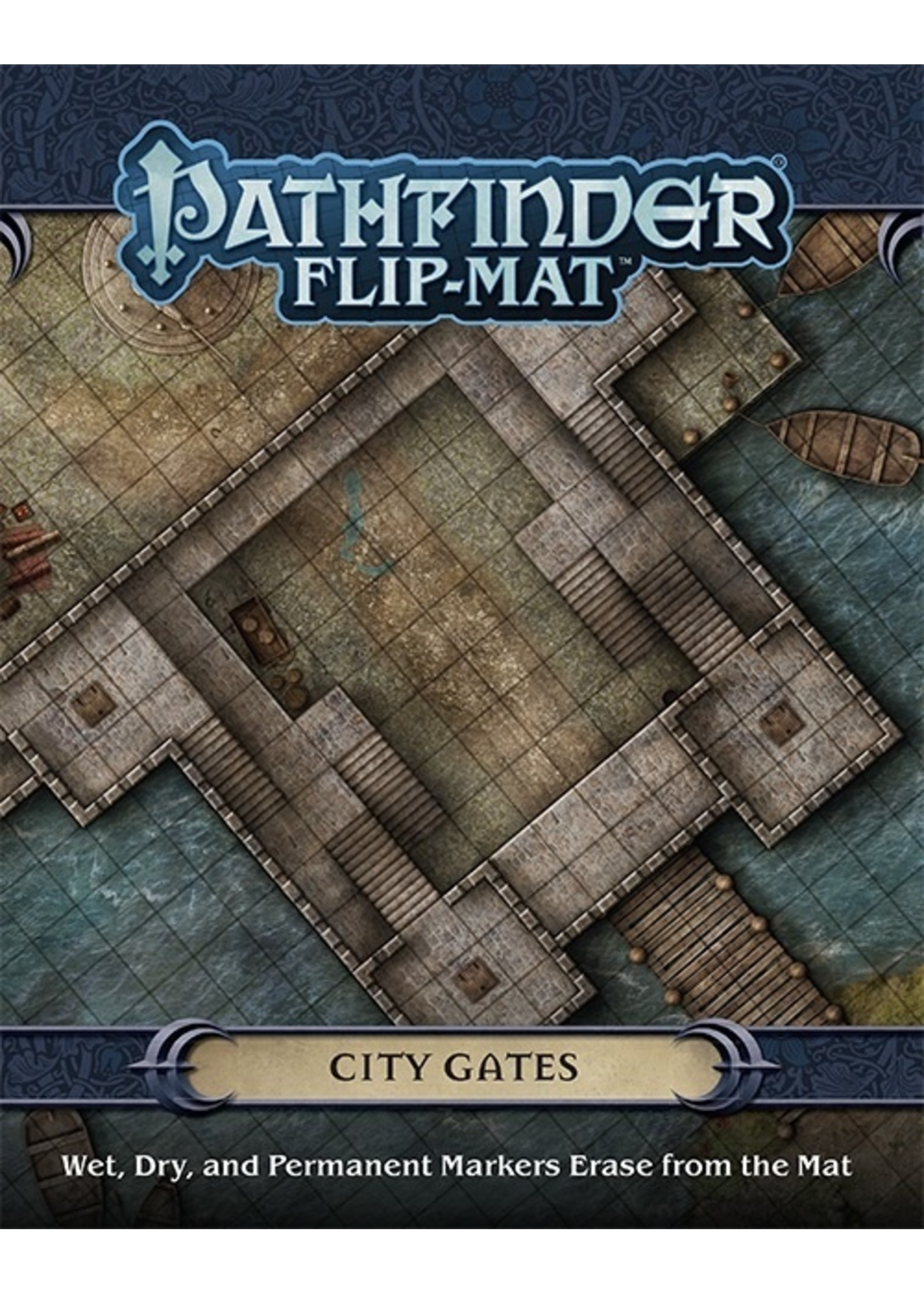 Pathfinder RPG: Flip-Mat - City Gates